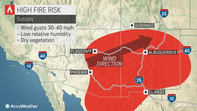 Wind blaze forces hundreds to evacuate Southern California campsite