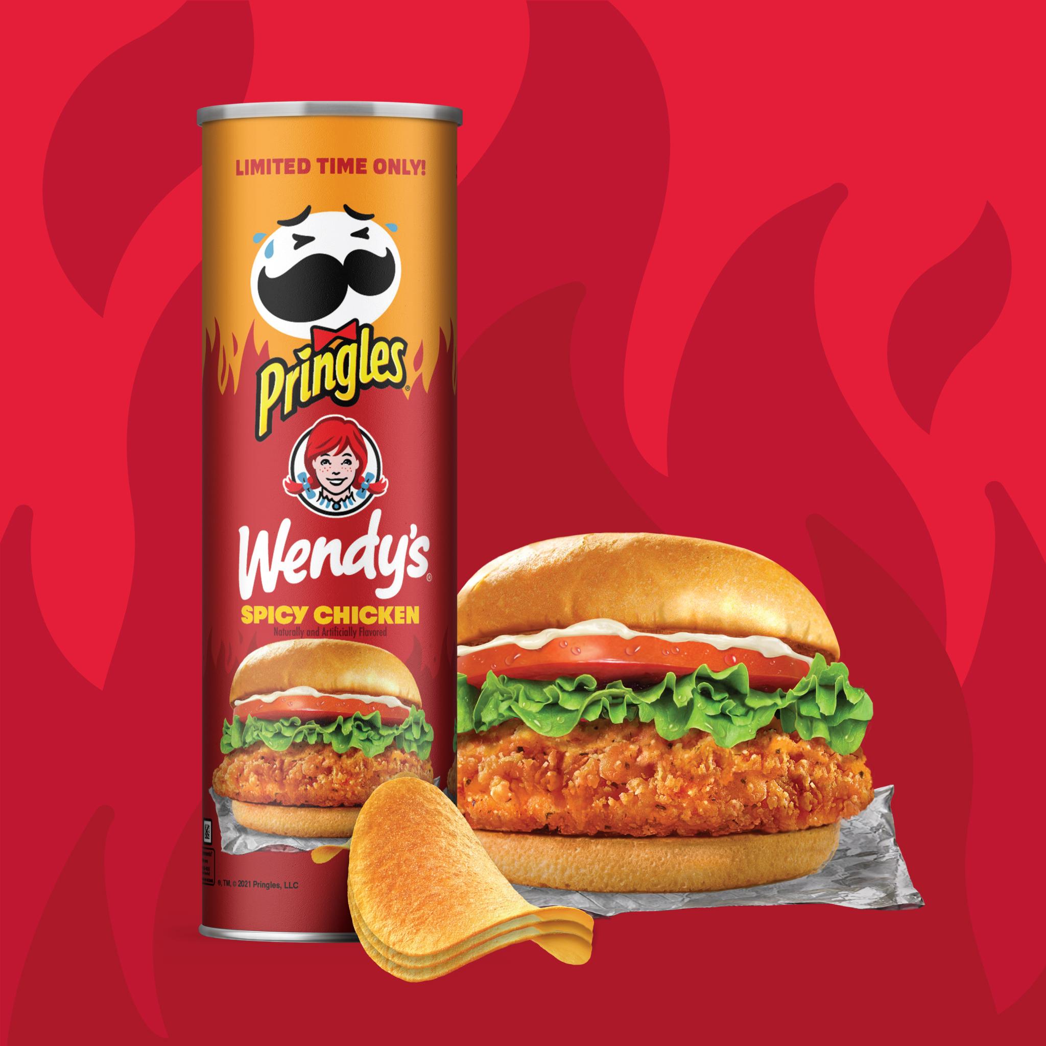 (Courtesy: Pringles / Wendy's)