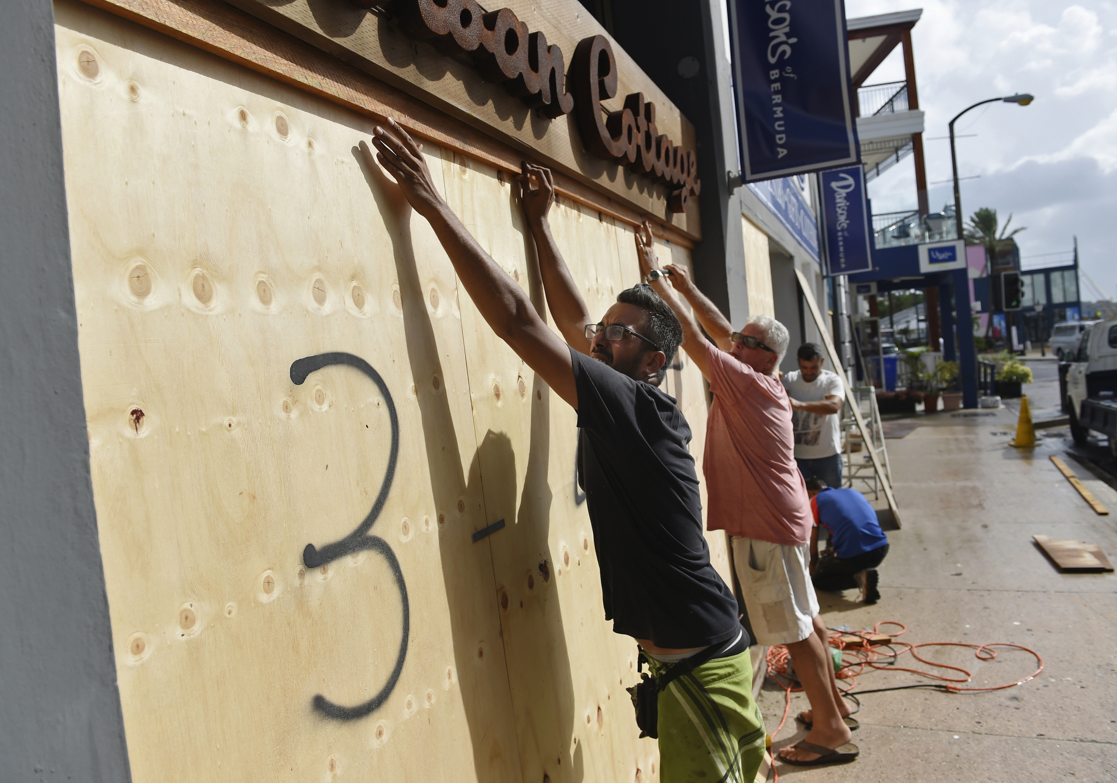 The Latest: Hurricane Jerry headed north of Leeward Islands