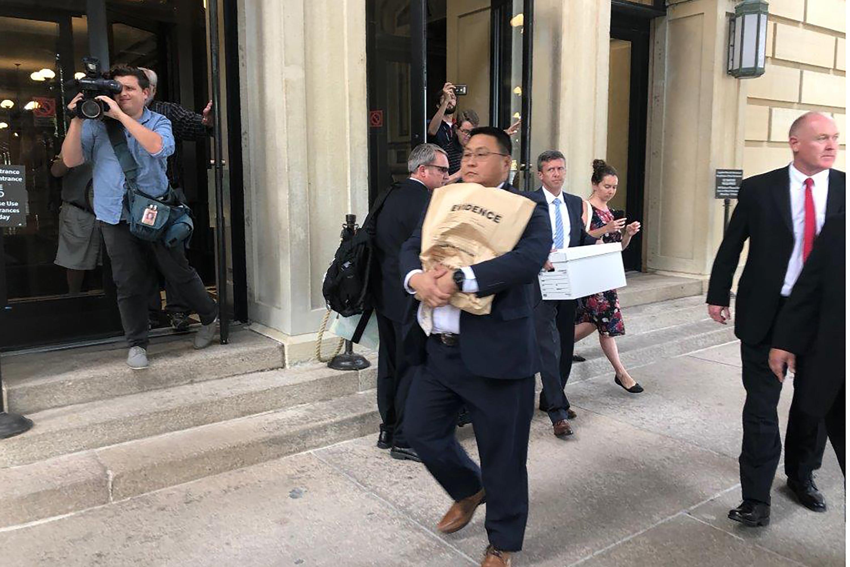 FBI agents raid Illinois state senators home, offices