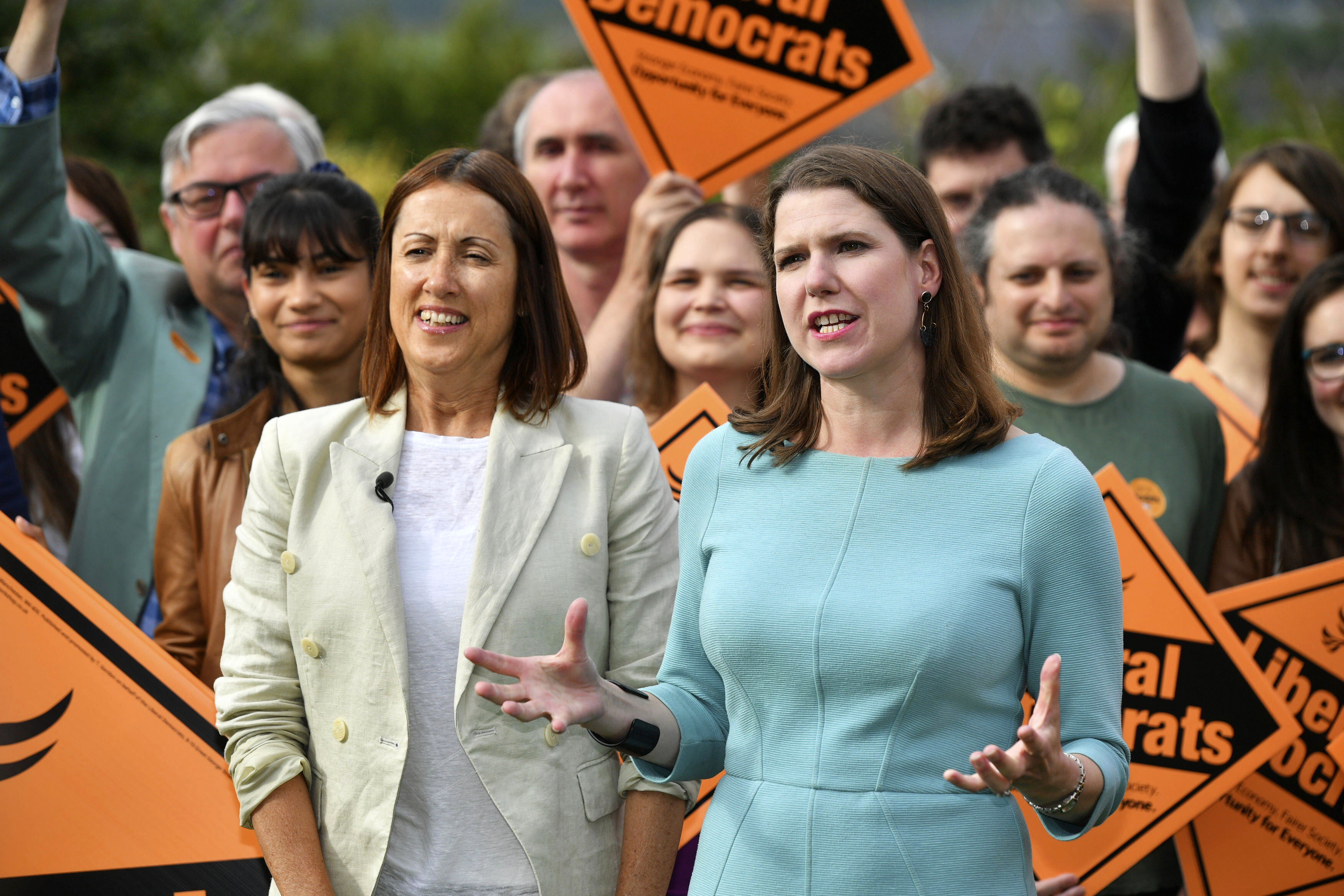 Pro-EU party wins, cuts Johnsons UK Parliament margin to 1