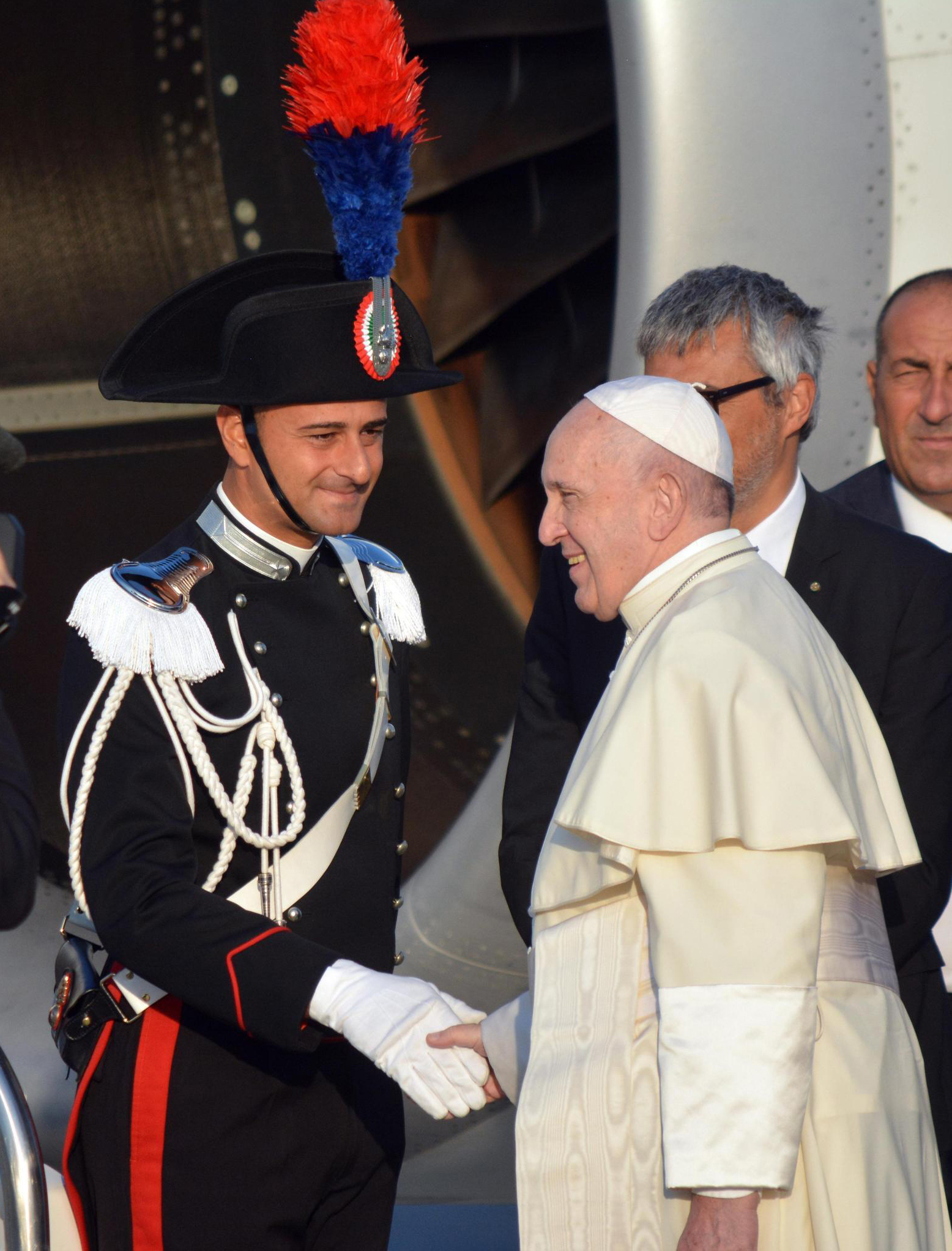 Pope on critics: Its an honor if the Americans attack me