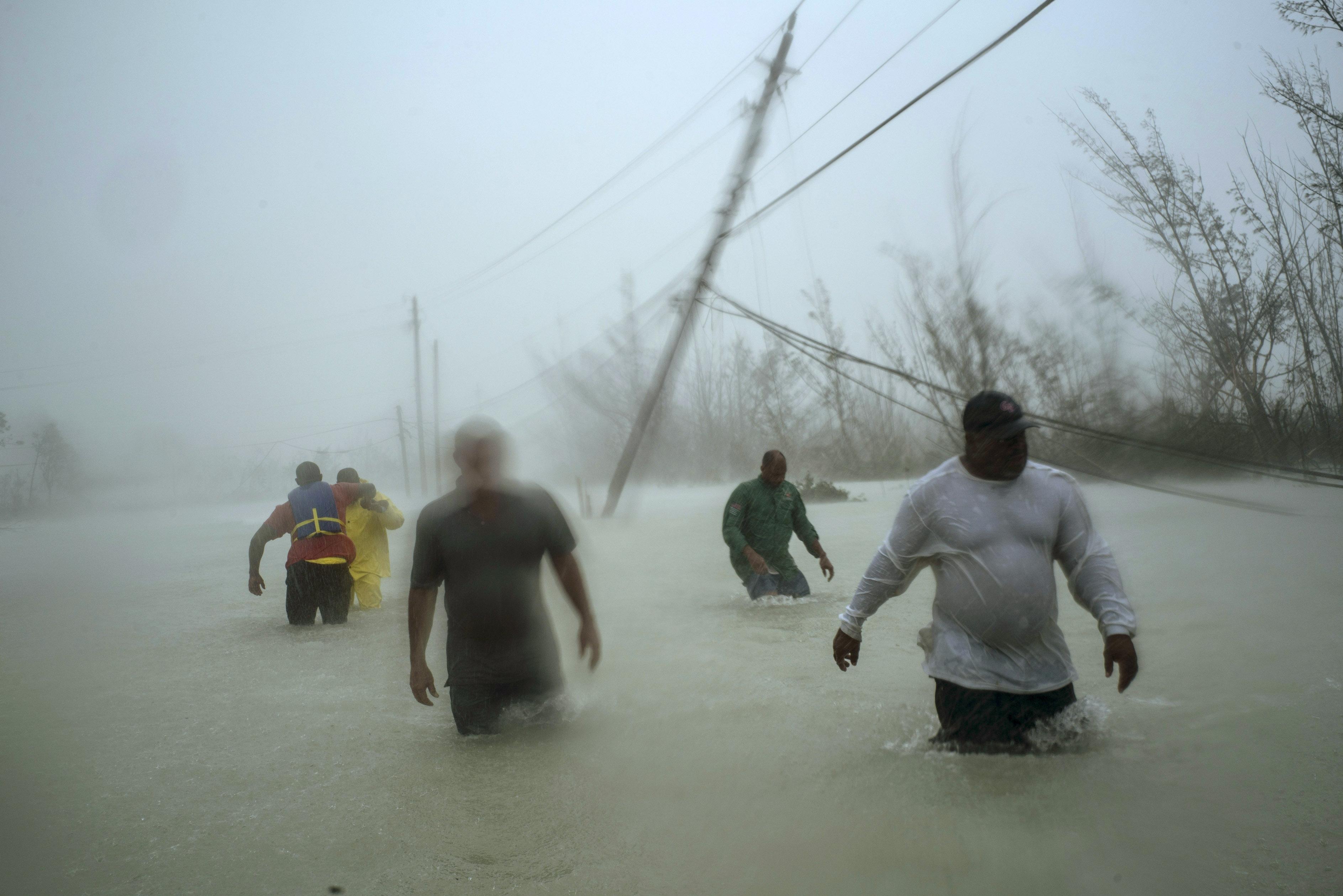Total devastation: Hurricane slams parts of the Bahamas