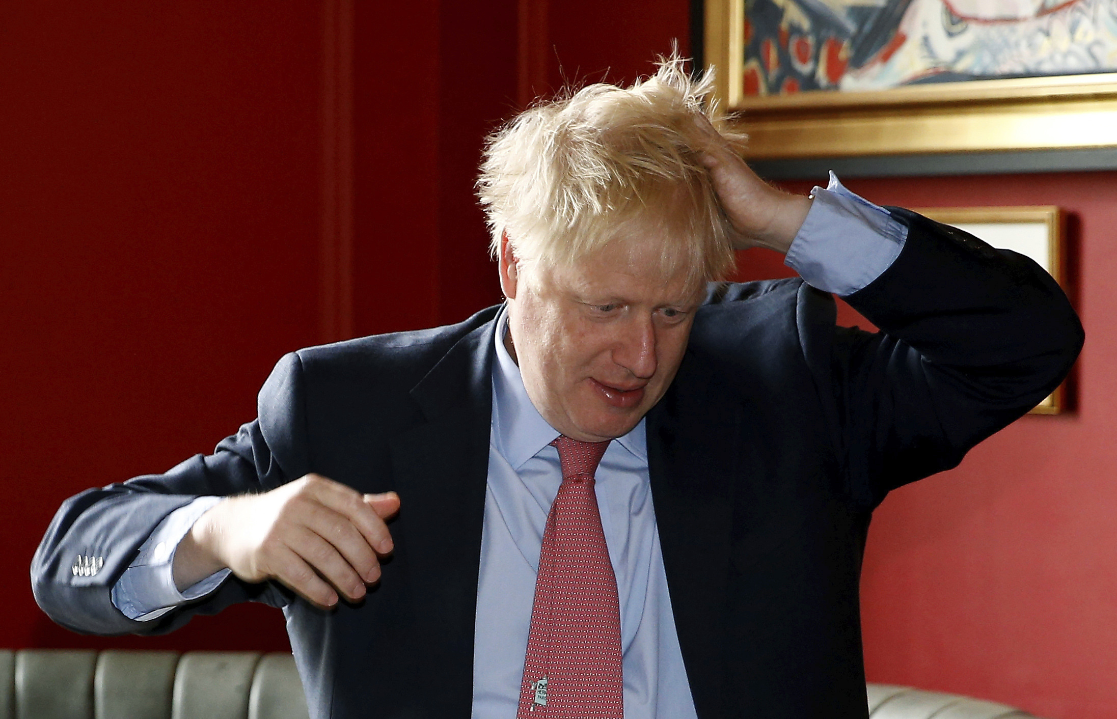 Boris Johnson says hes not to blame for ambassadors ouster