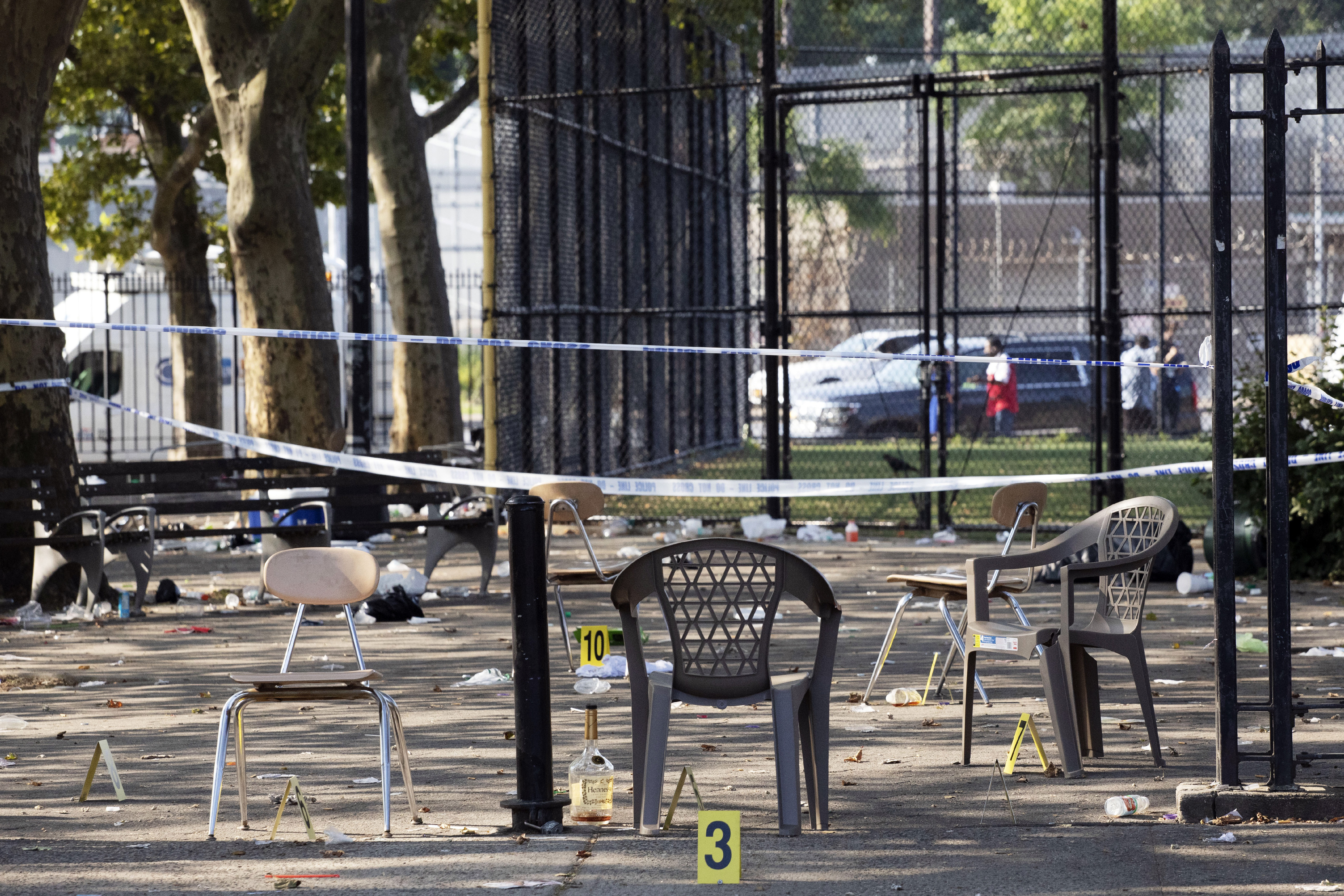 Block party shootout may have been gang related, police say