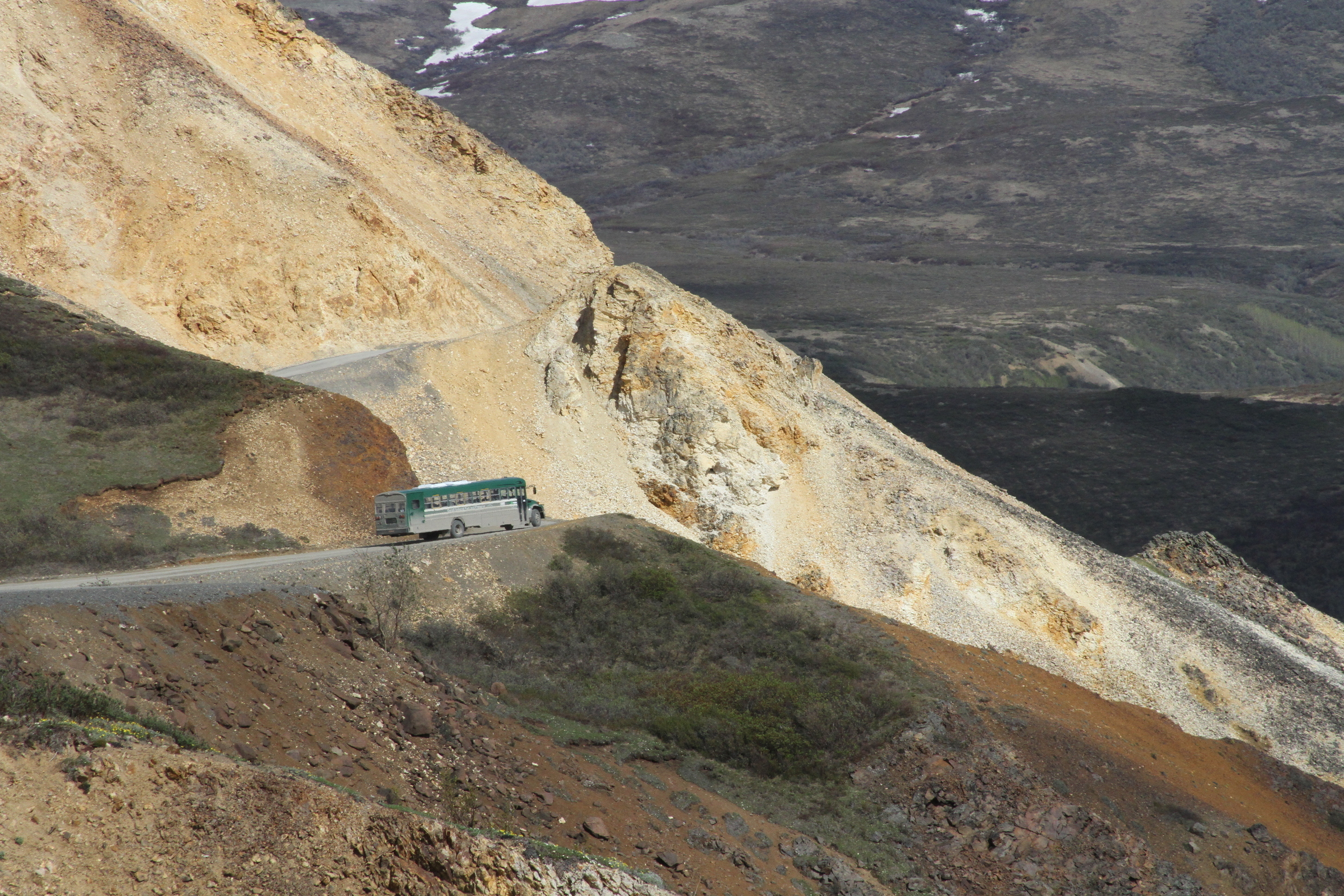 The Latest: All tourists return to Denali entrance safely