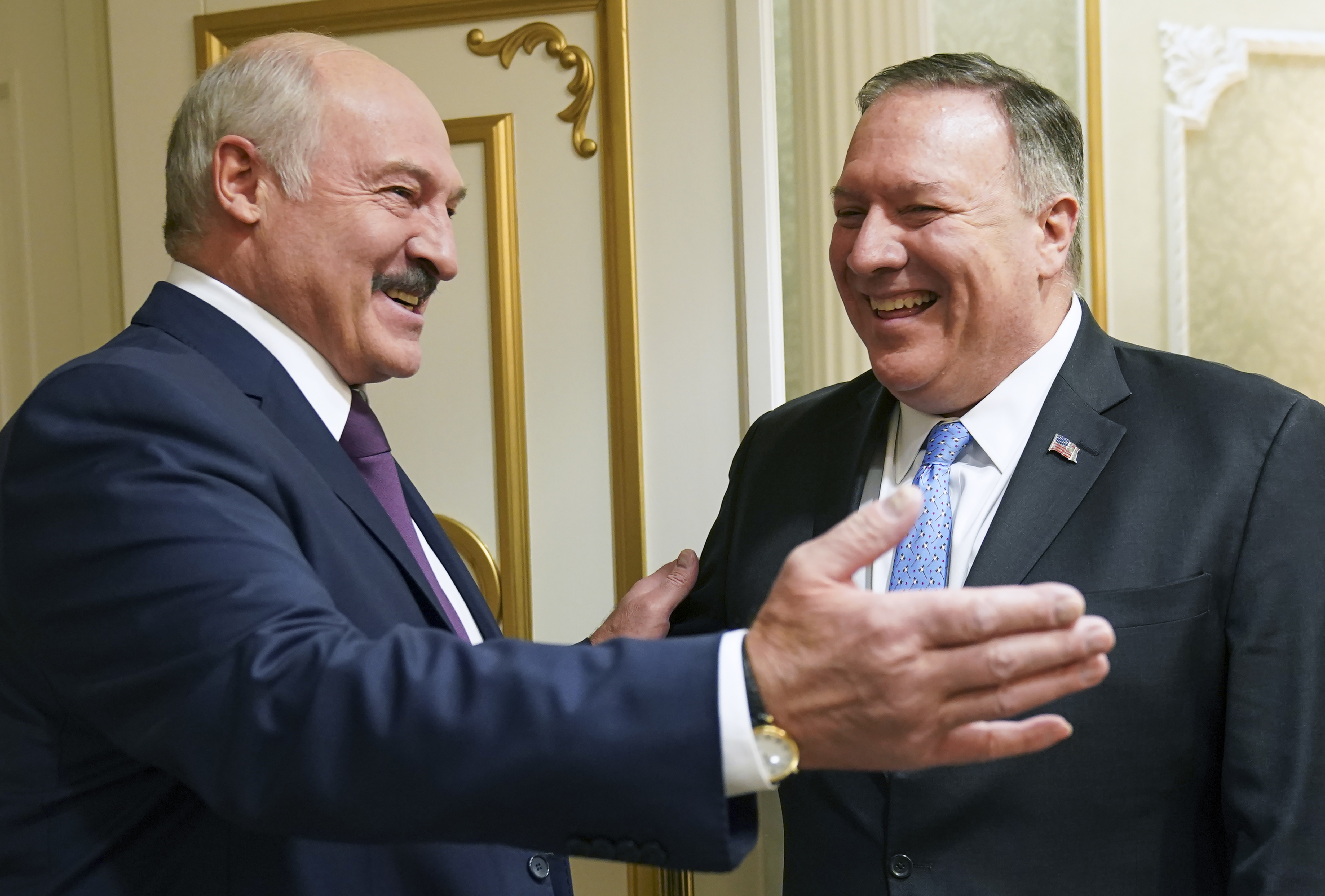 Pompeo says US can supply Belarus with 100% of oil, gas