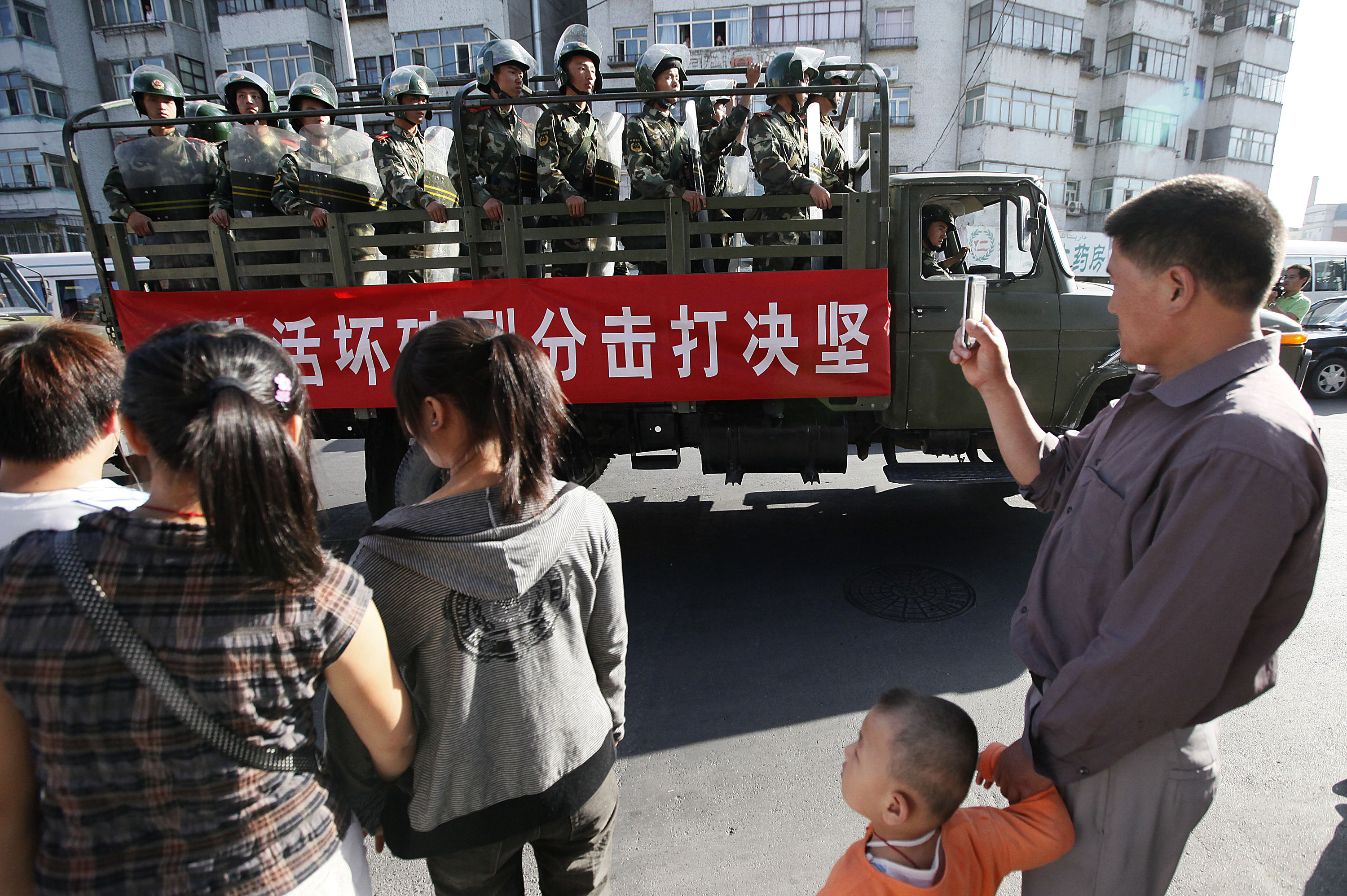 China locks down Xinjiang a decade after deadly ethnic riots