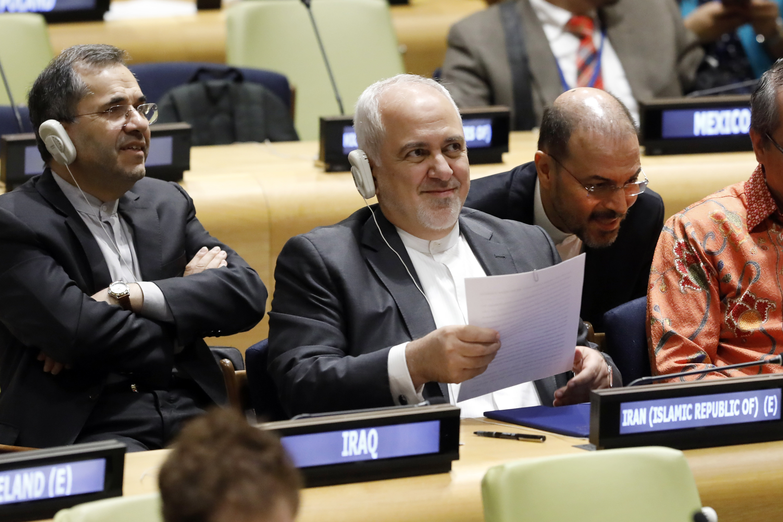 Top diplomat: Iran must build missiles for defense