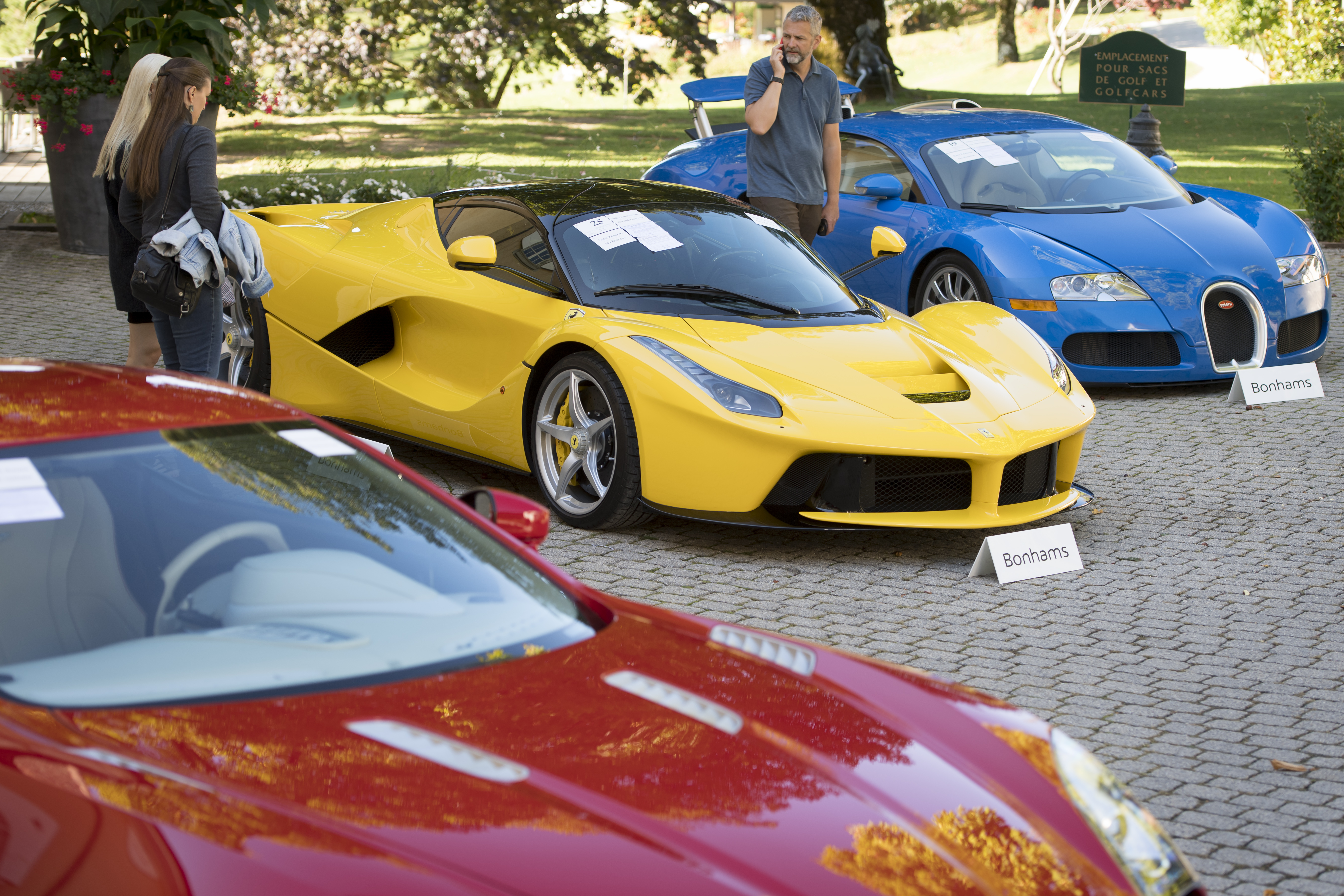 Supercars taken from African leaders son auctioned for $27M