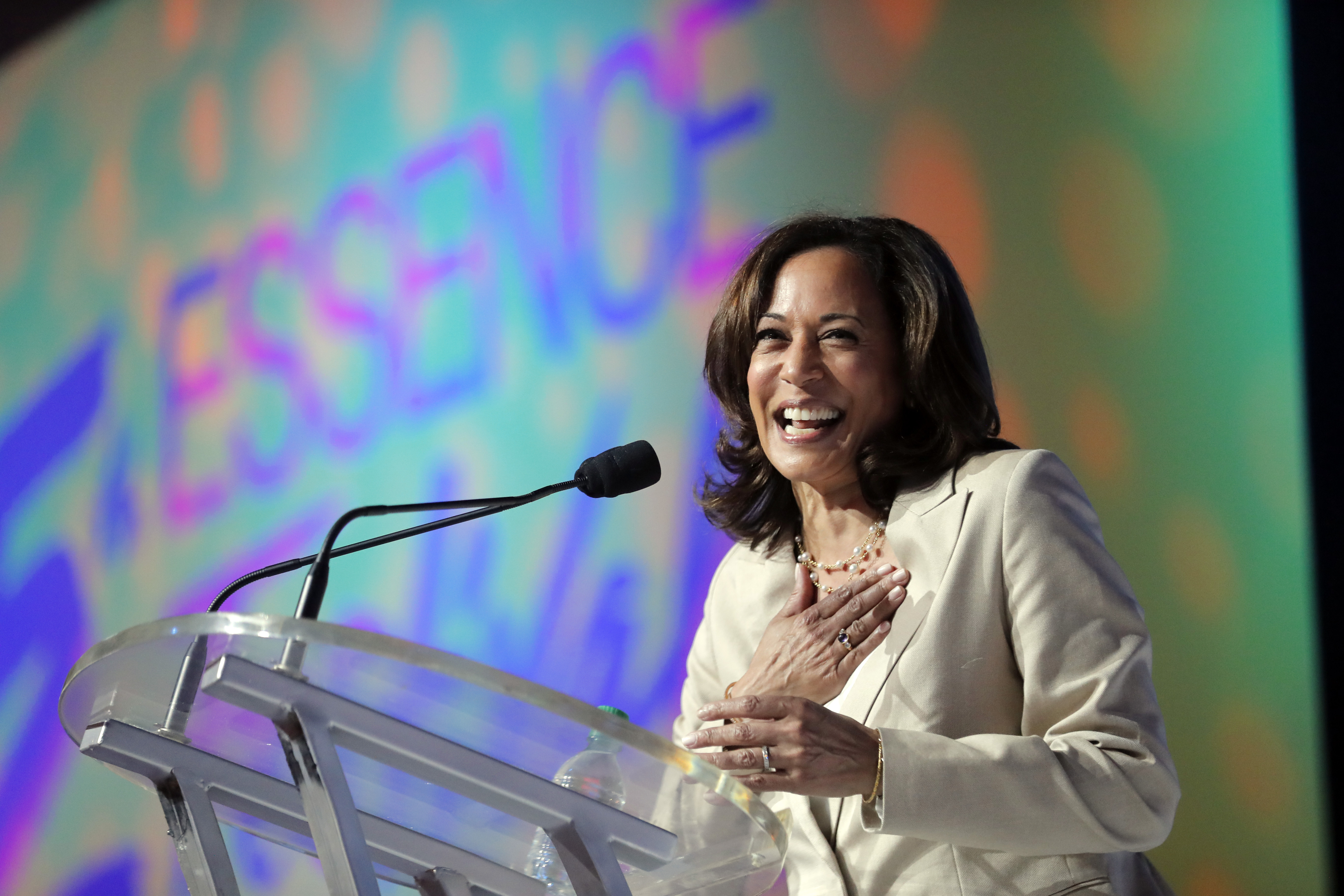 AP Interview: Kamala Harris on race and electability in 2020