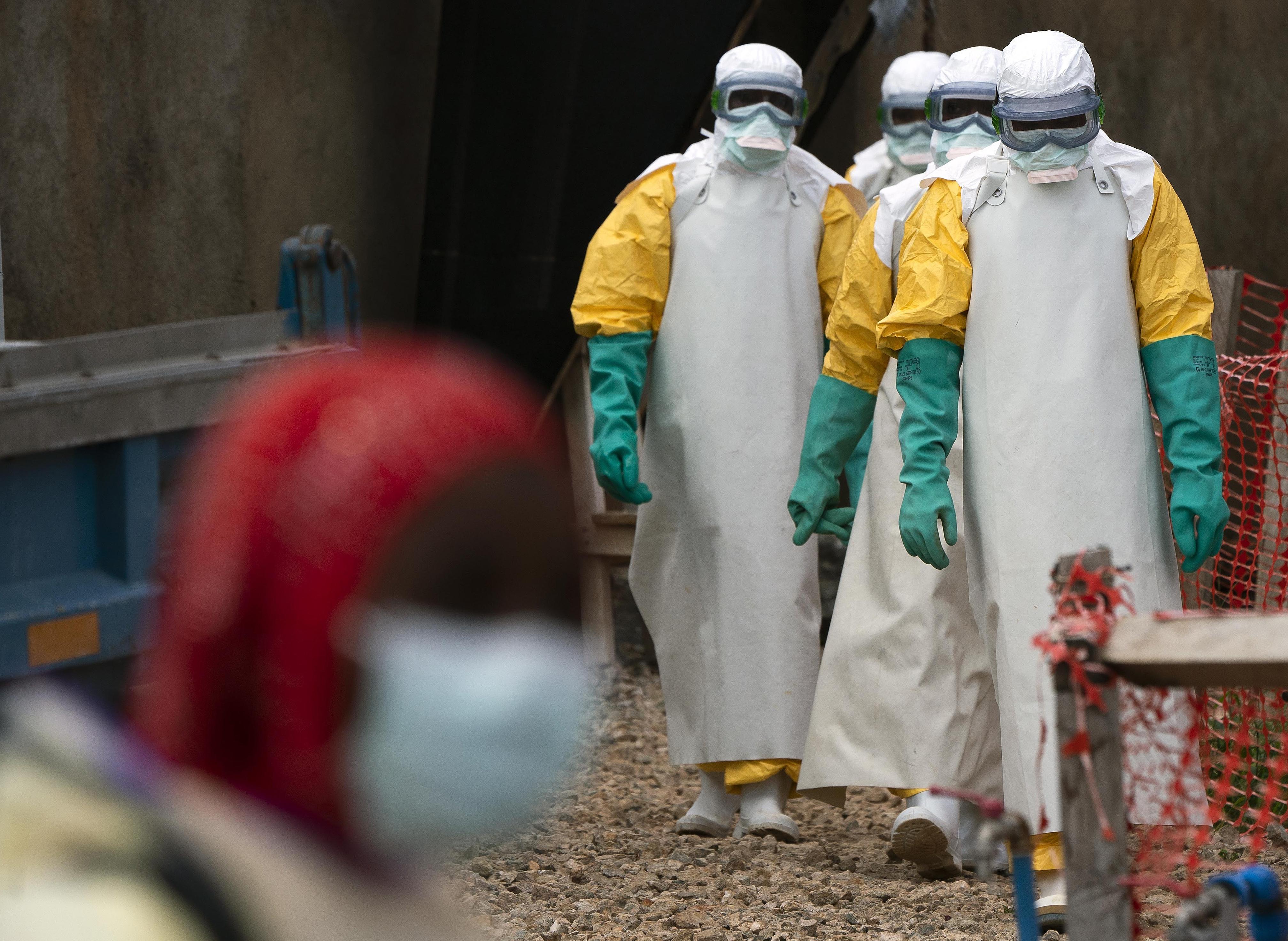 Congo soldiers, police to enforce Ebola emergency measures