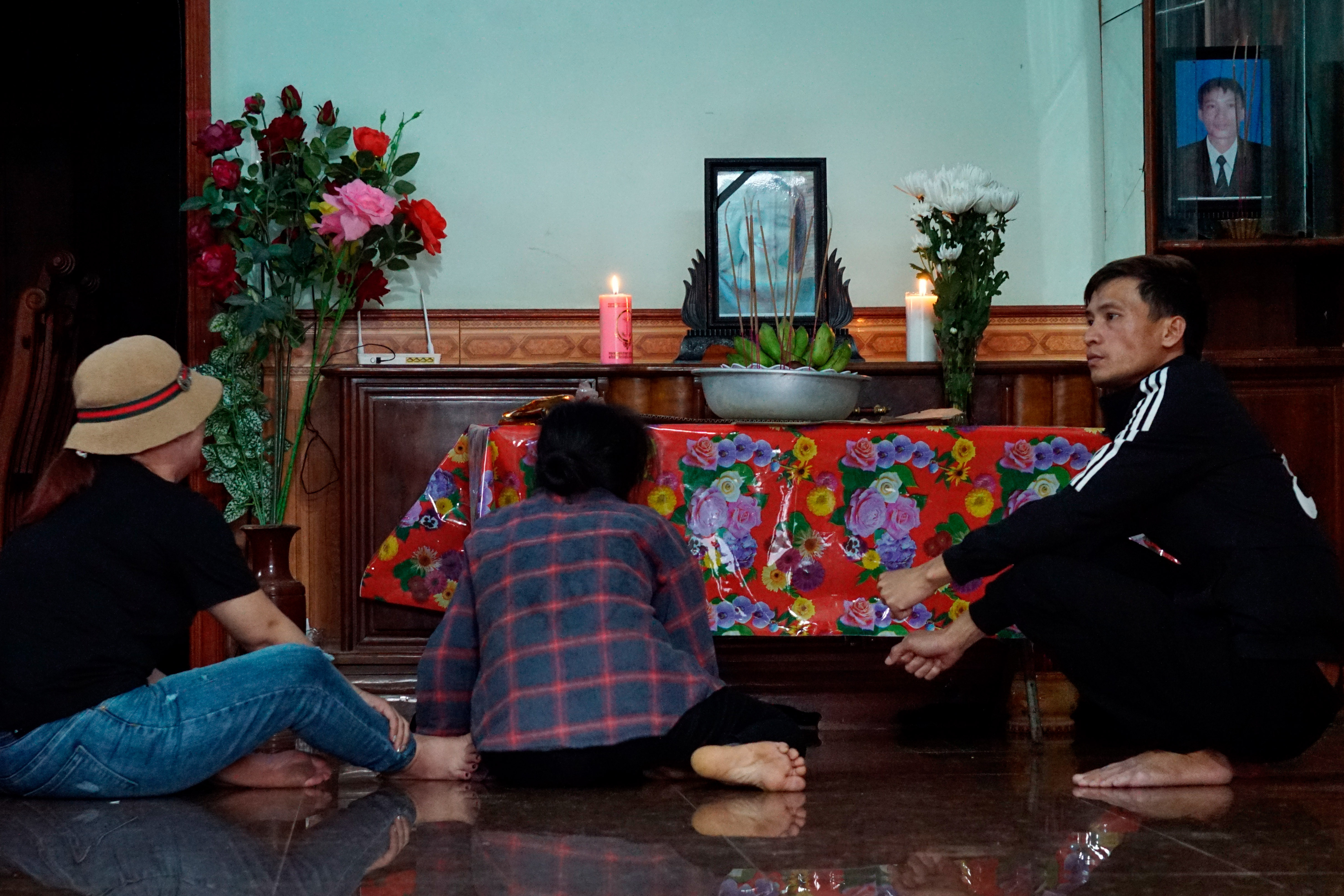 Vietnamese village prays, awaits news on loved ones fate