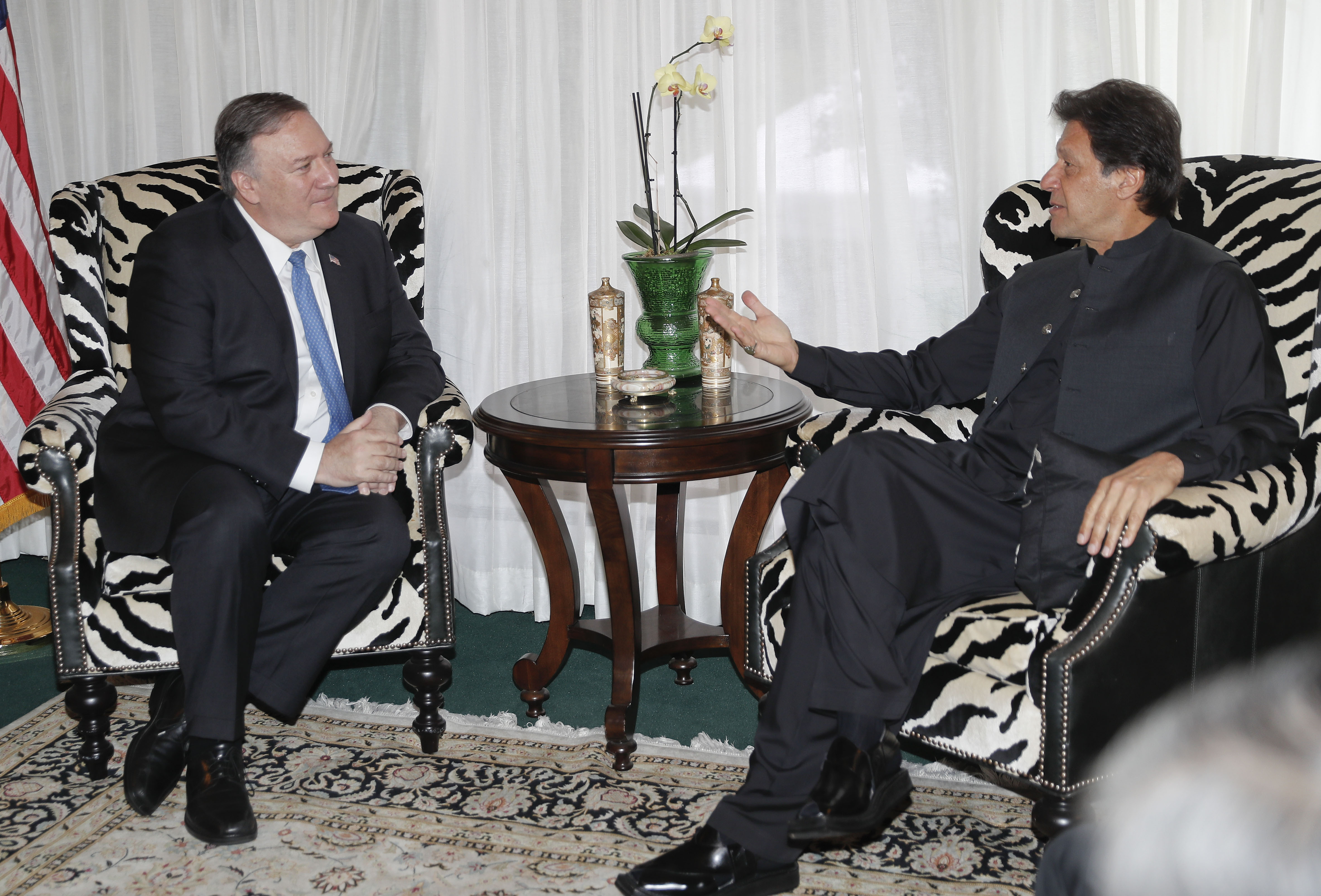Pakistan PM says hell work with US on Afghanistan accord