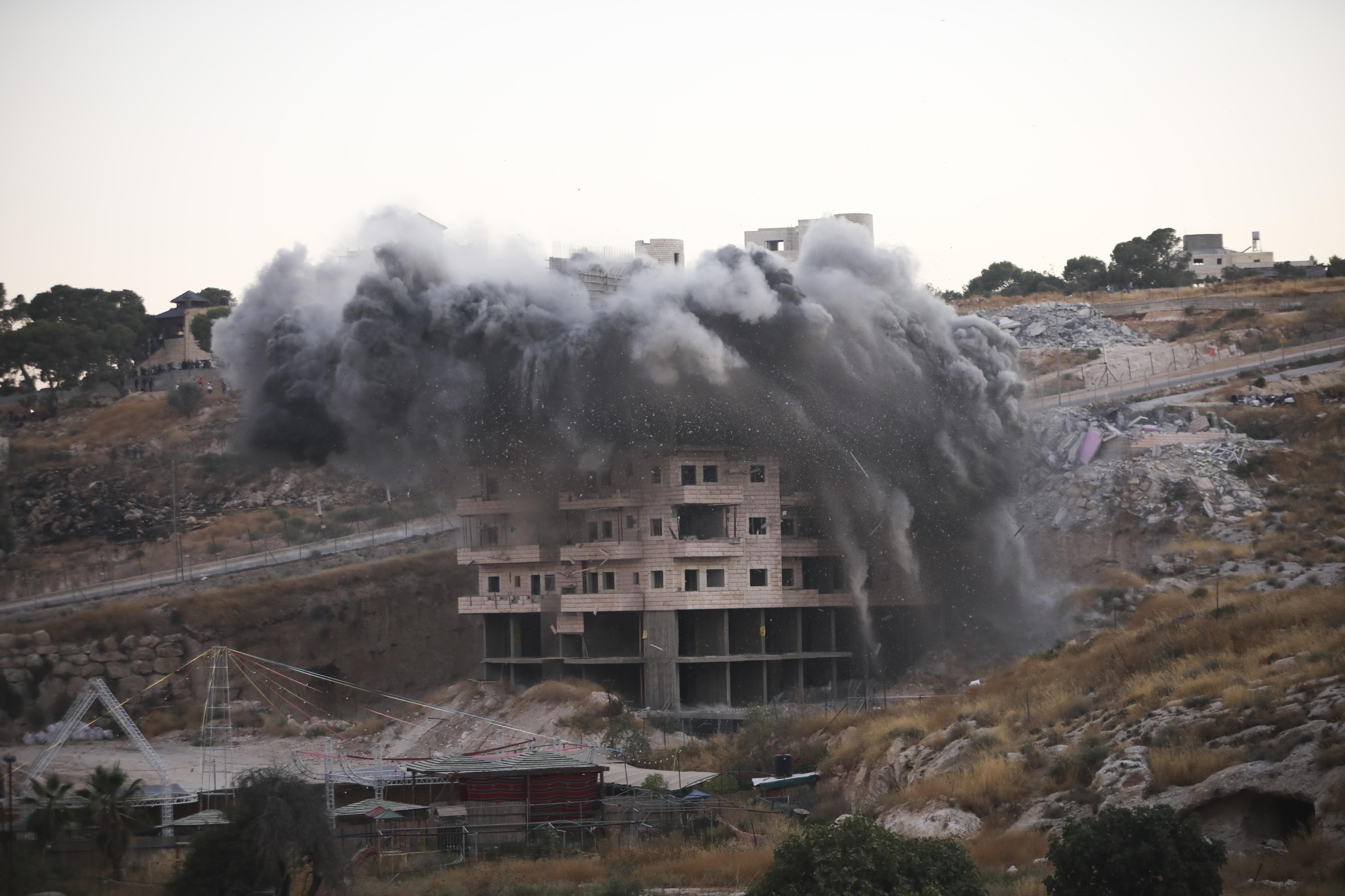 Report: Israeli home demolitions in east Jerusalem spiked