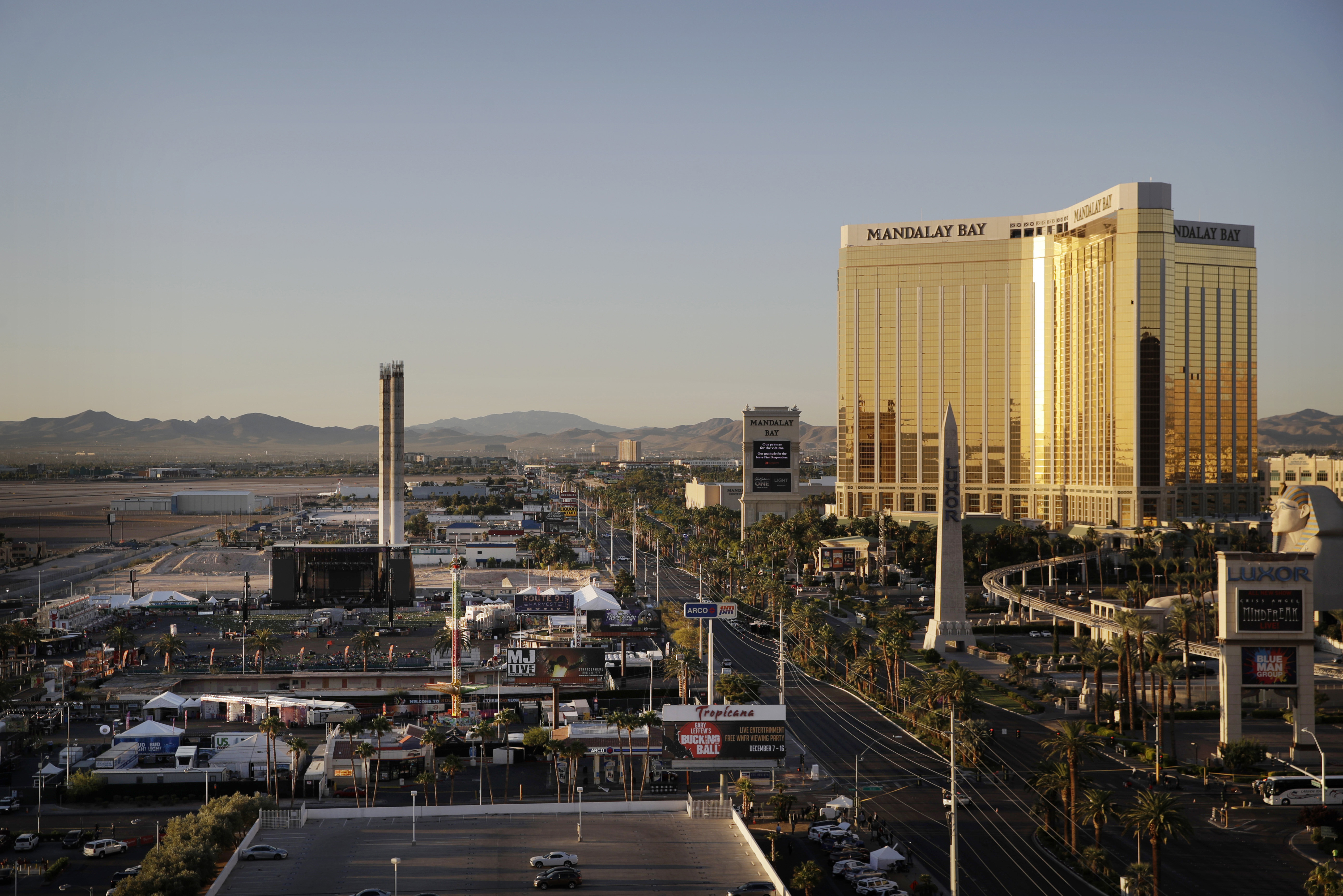 Vegas police fire officer who hesitated during mass shooting
