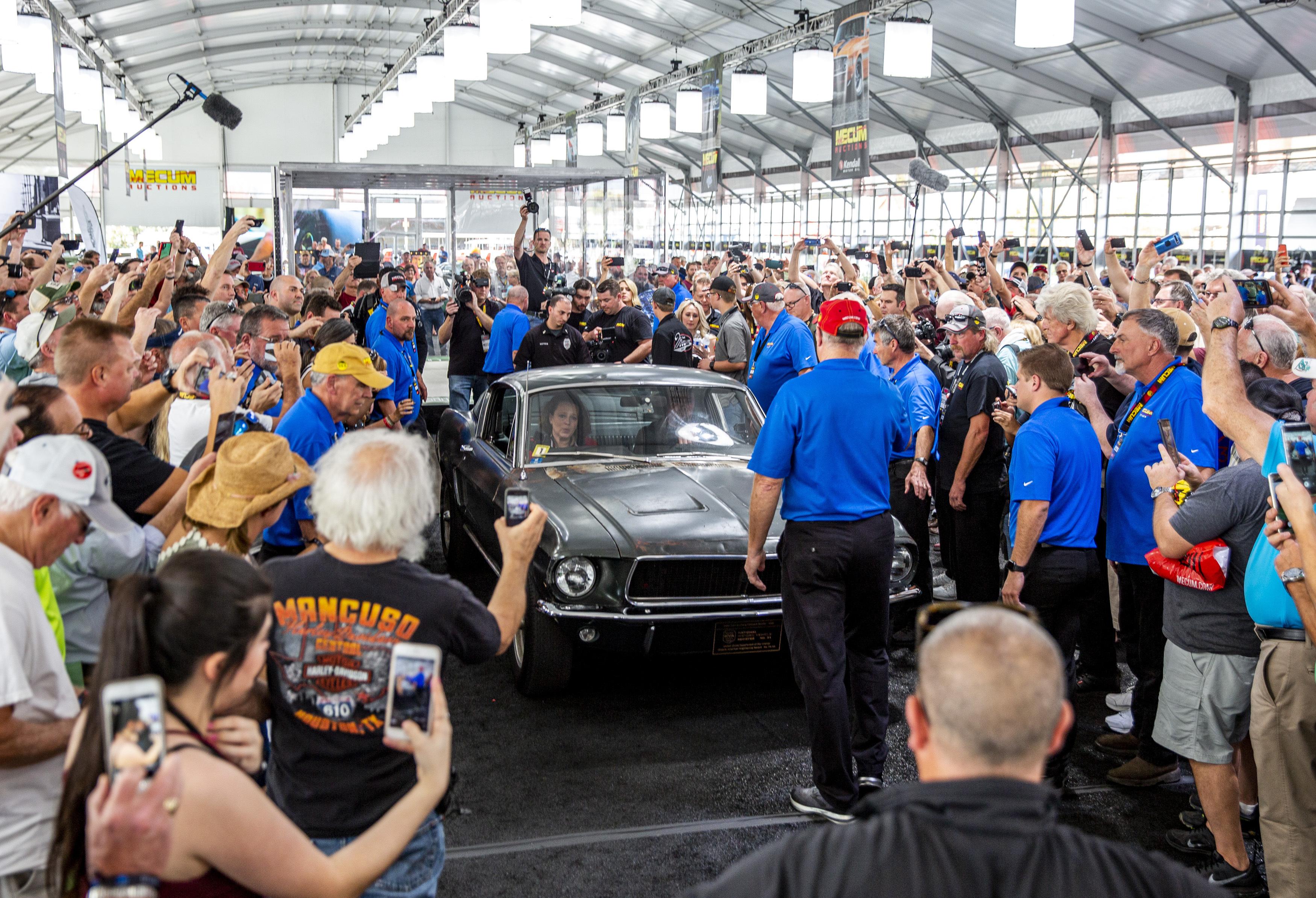 Bullitt Mustang sells for $3.74 million at Florida auction