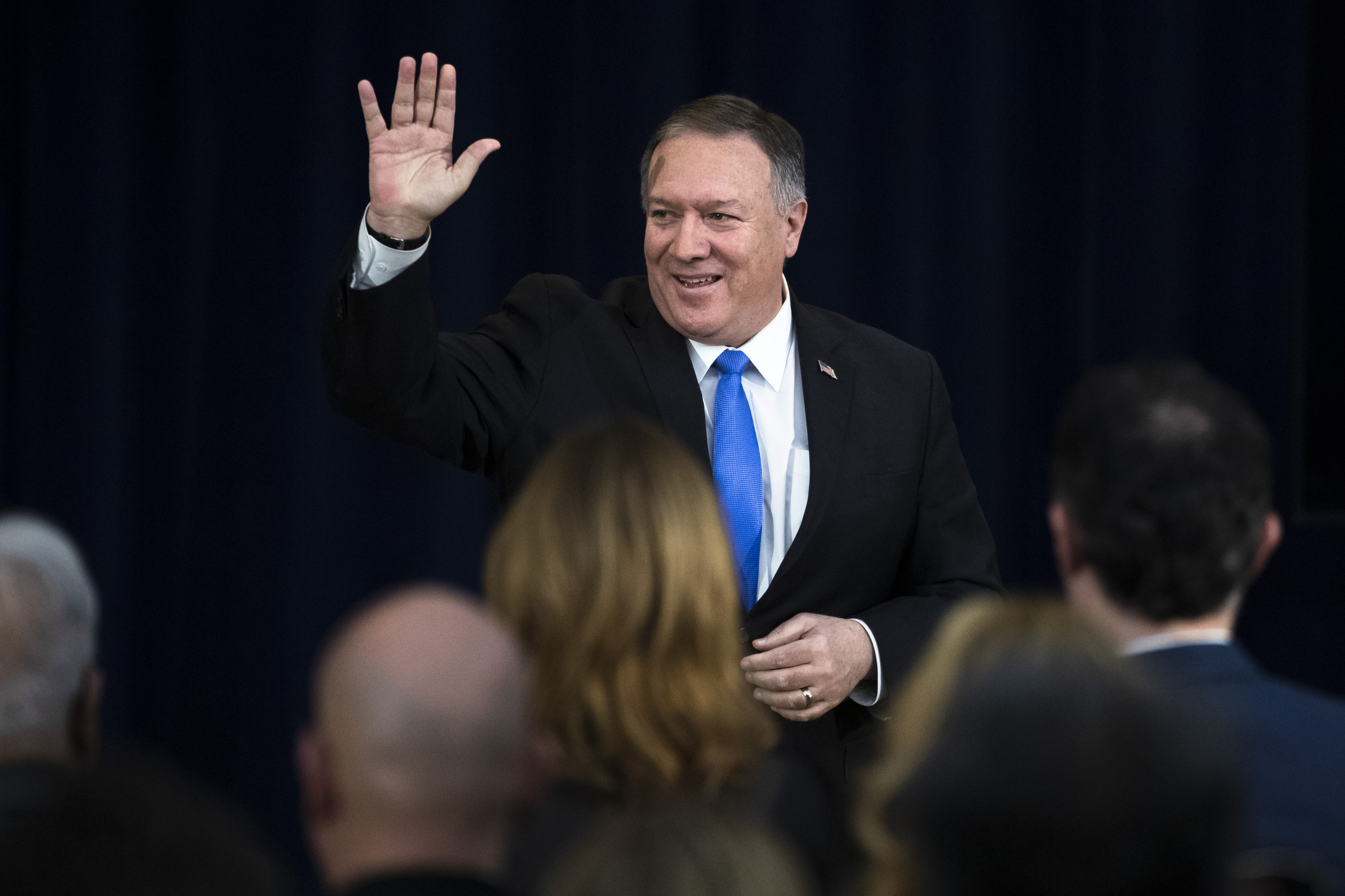 Baghdad embassy attack prompts Pompeo to delay Ukraine visit