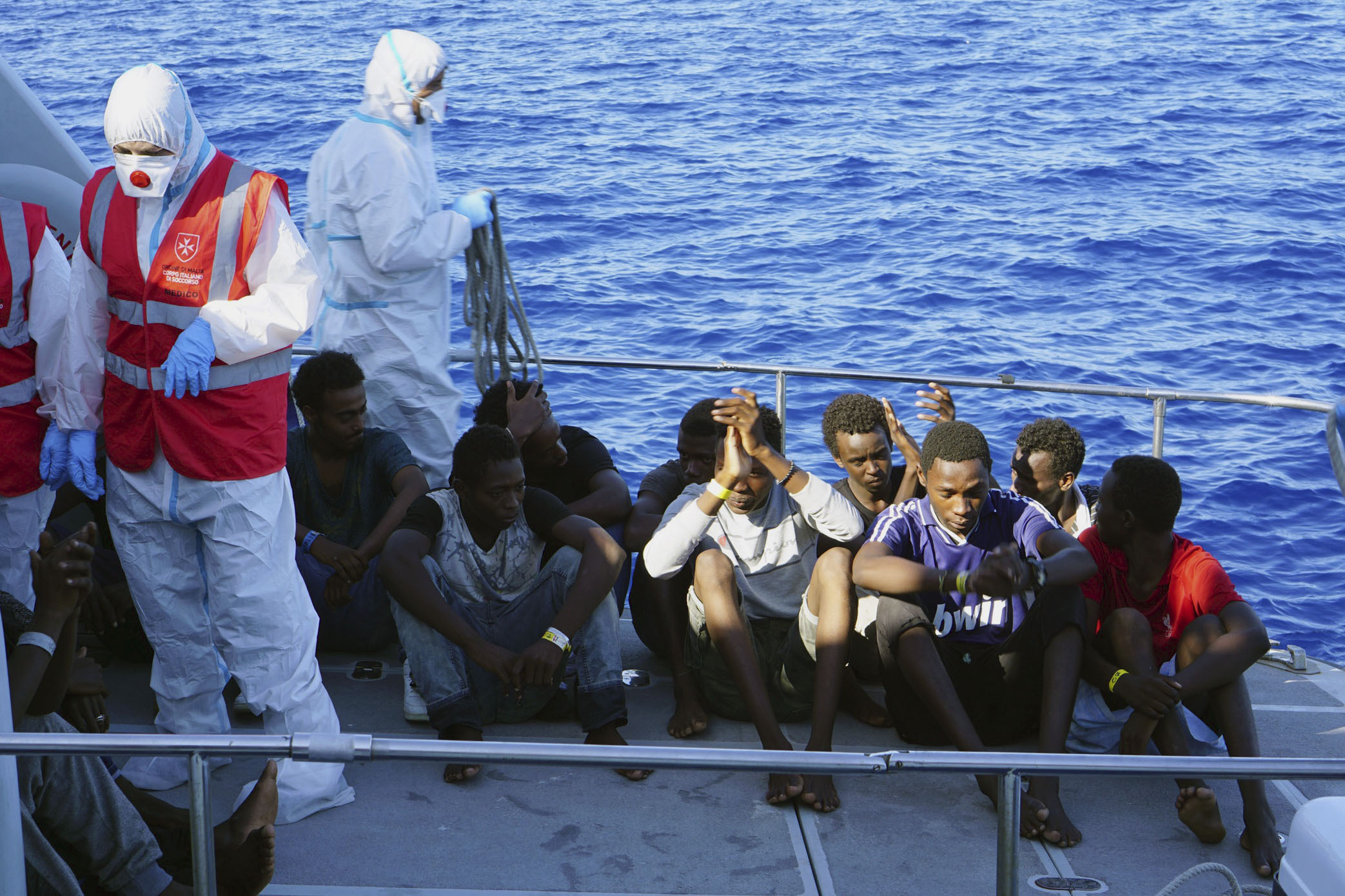 Italys Salvini agrees to let 27 minors off migrant ship