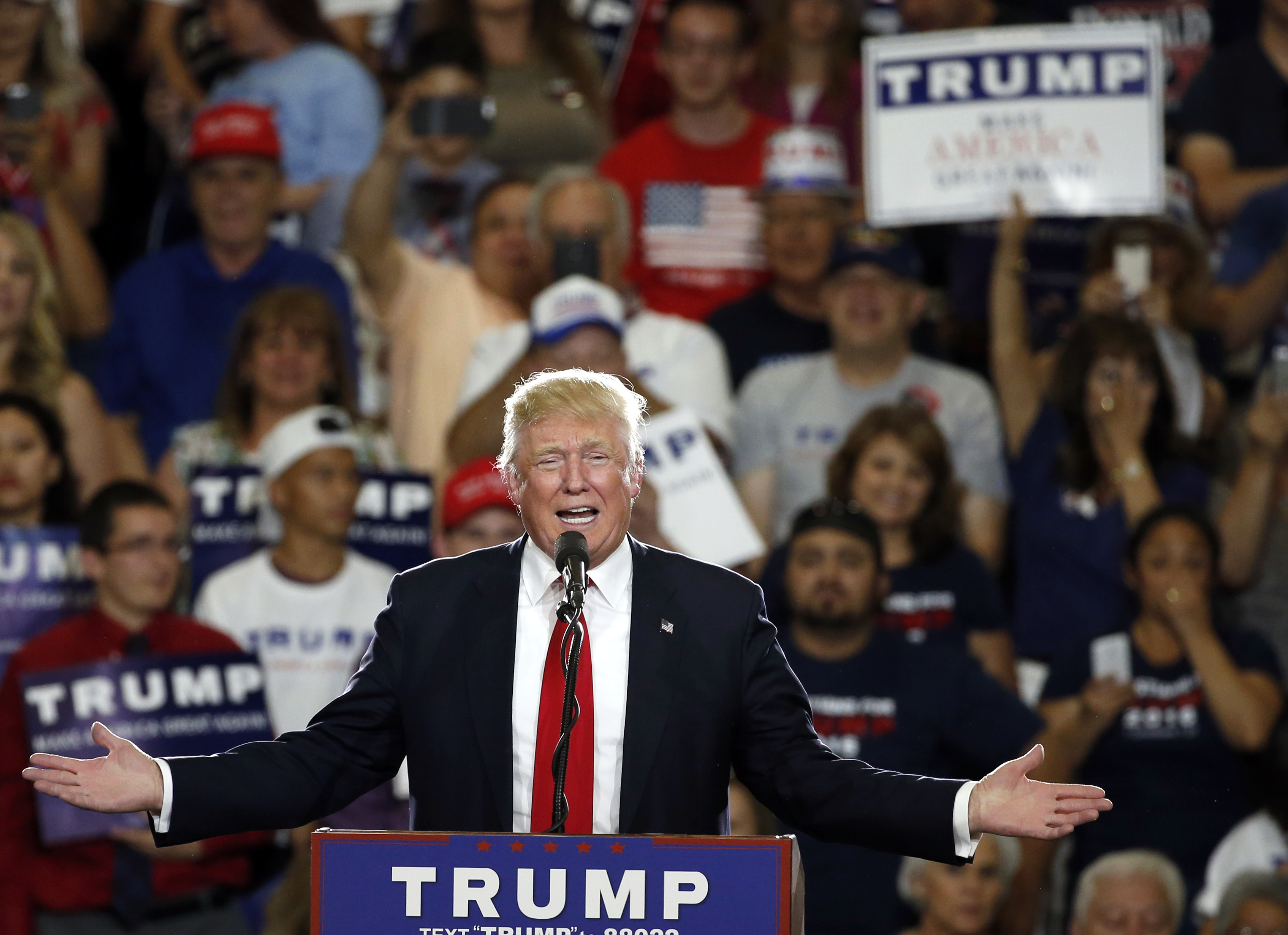 Trumps rally in New Mexico is a bid for an upset next year
