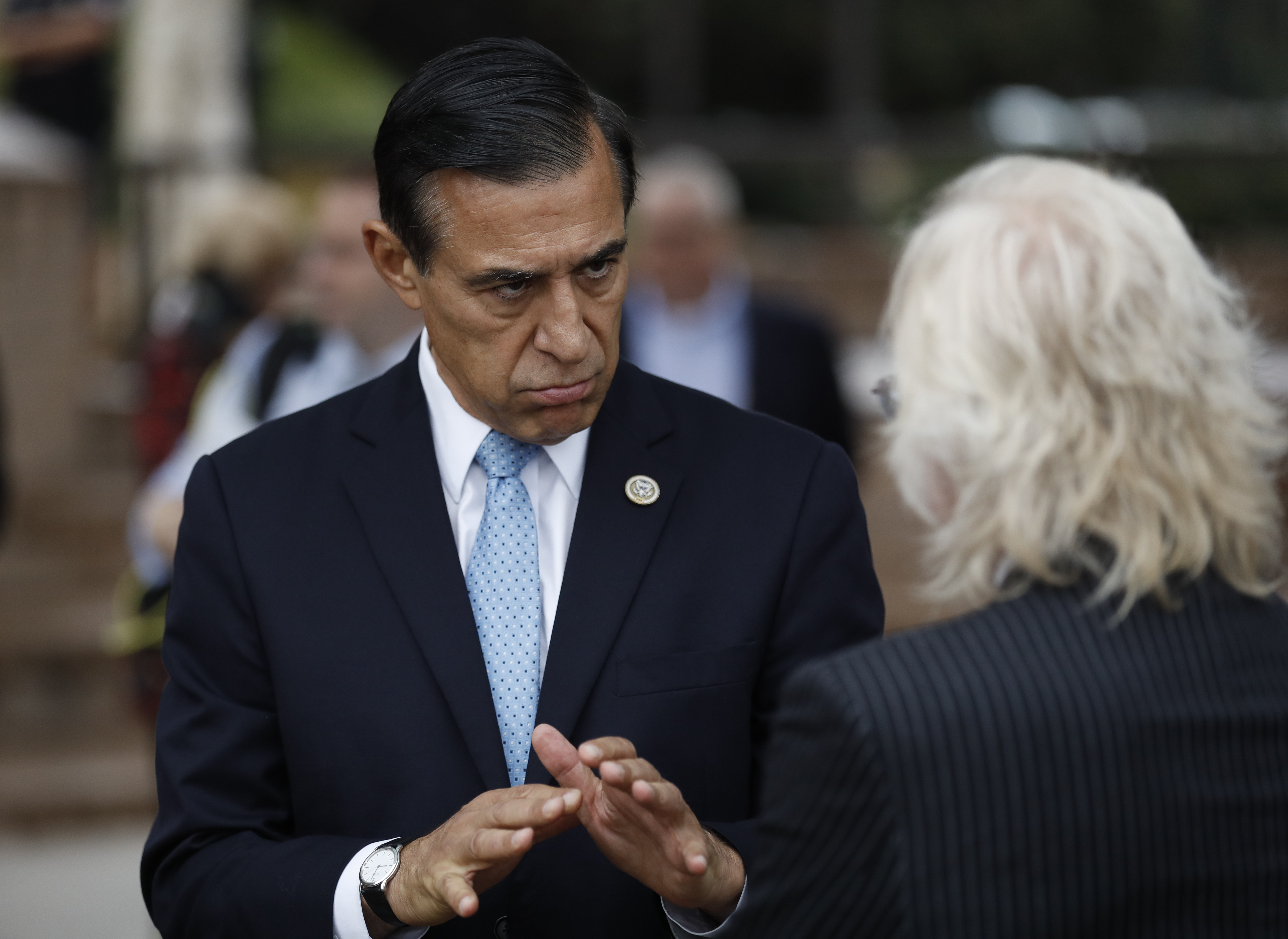 Ex-lawmaker Issa vies for seat of indicted GOP congressman