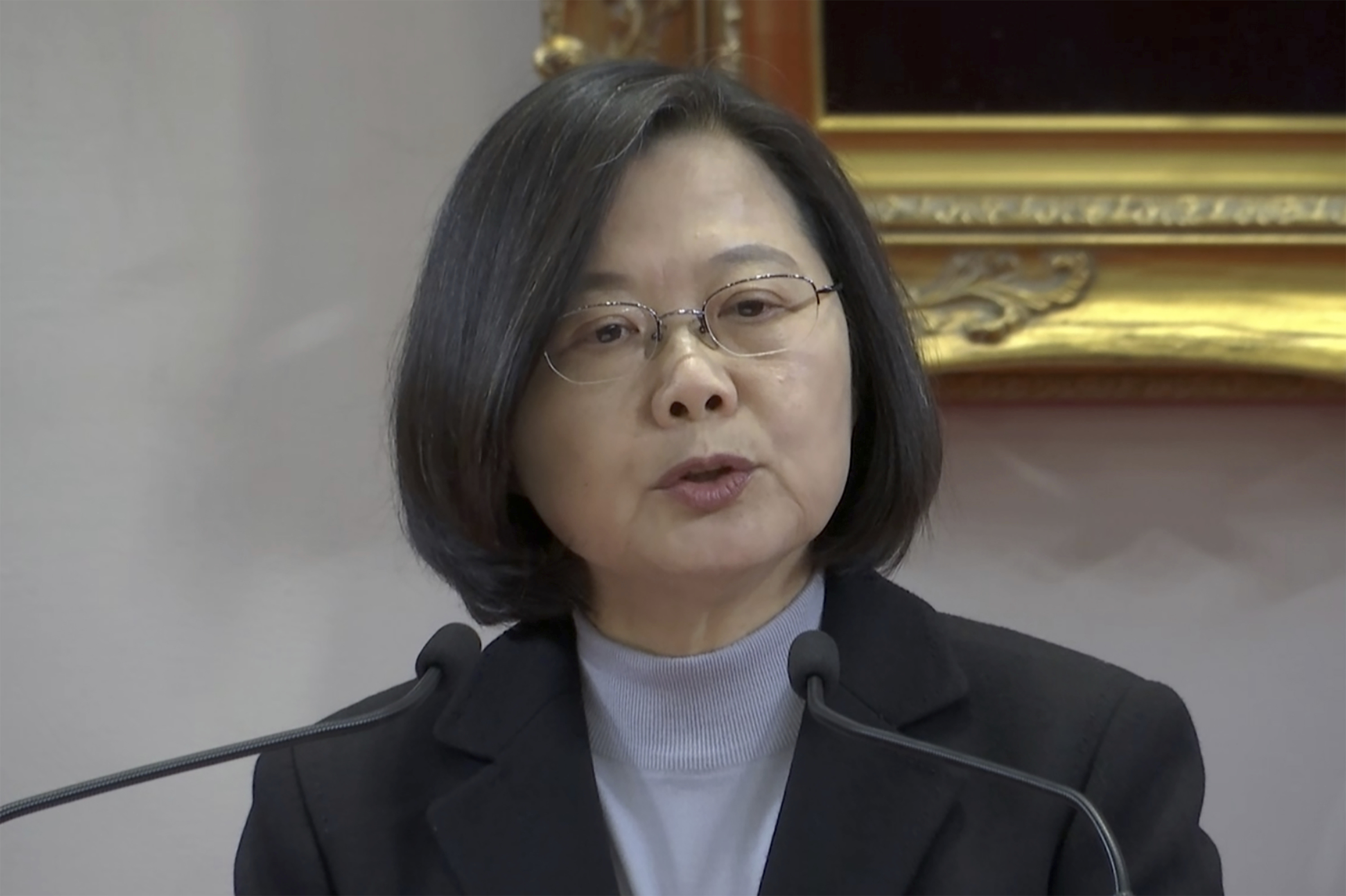 Taiwans Tsai defends Anti-Infiltration Law aimed at China