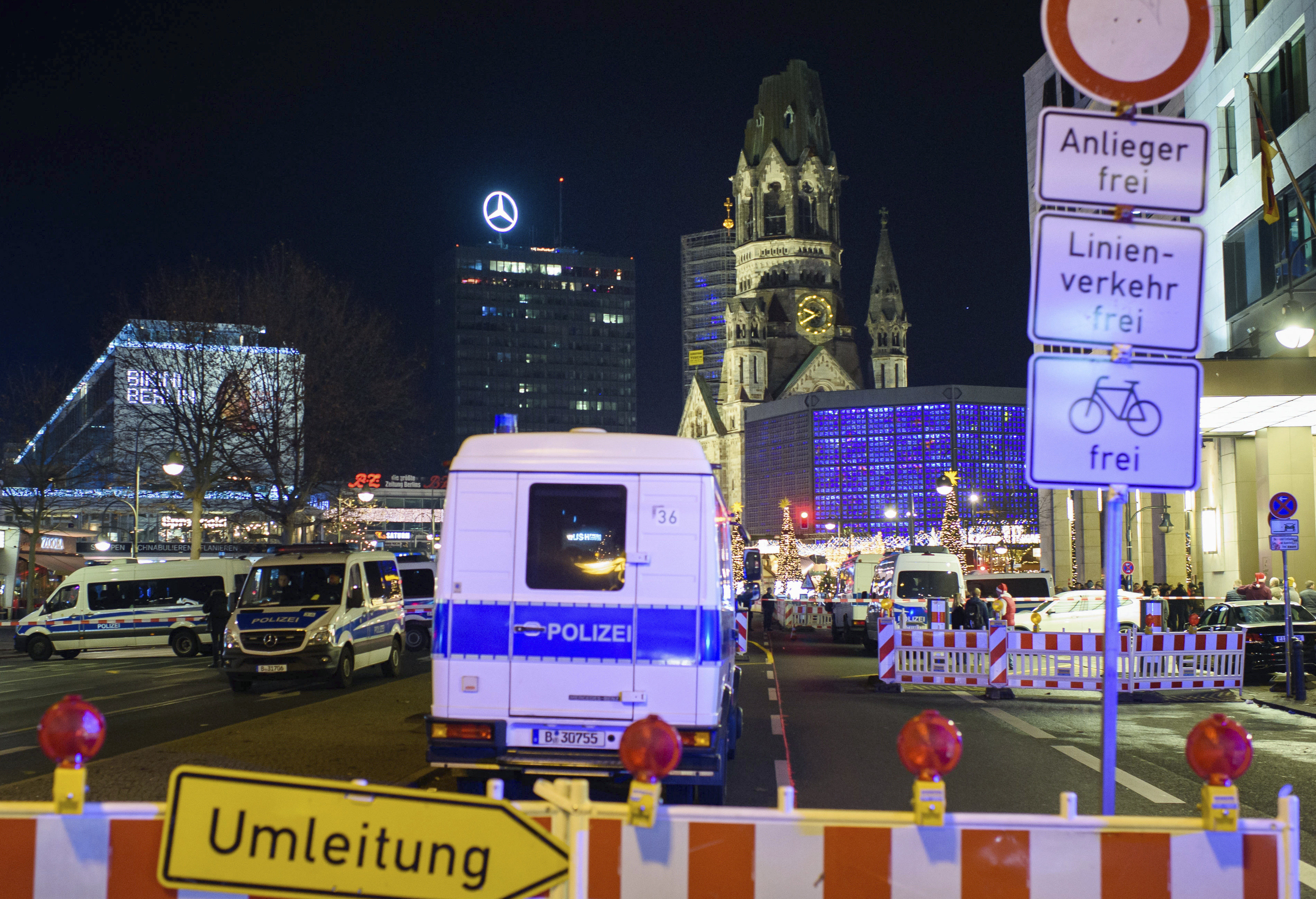 Berlin Christmas market that was attacked in 2016 evacuated