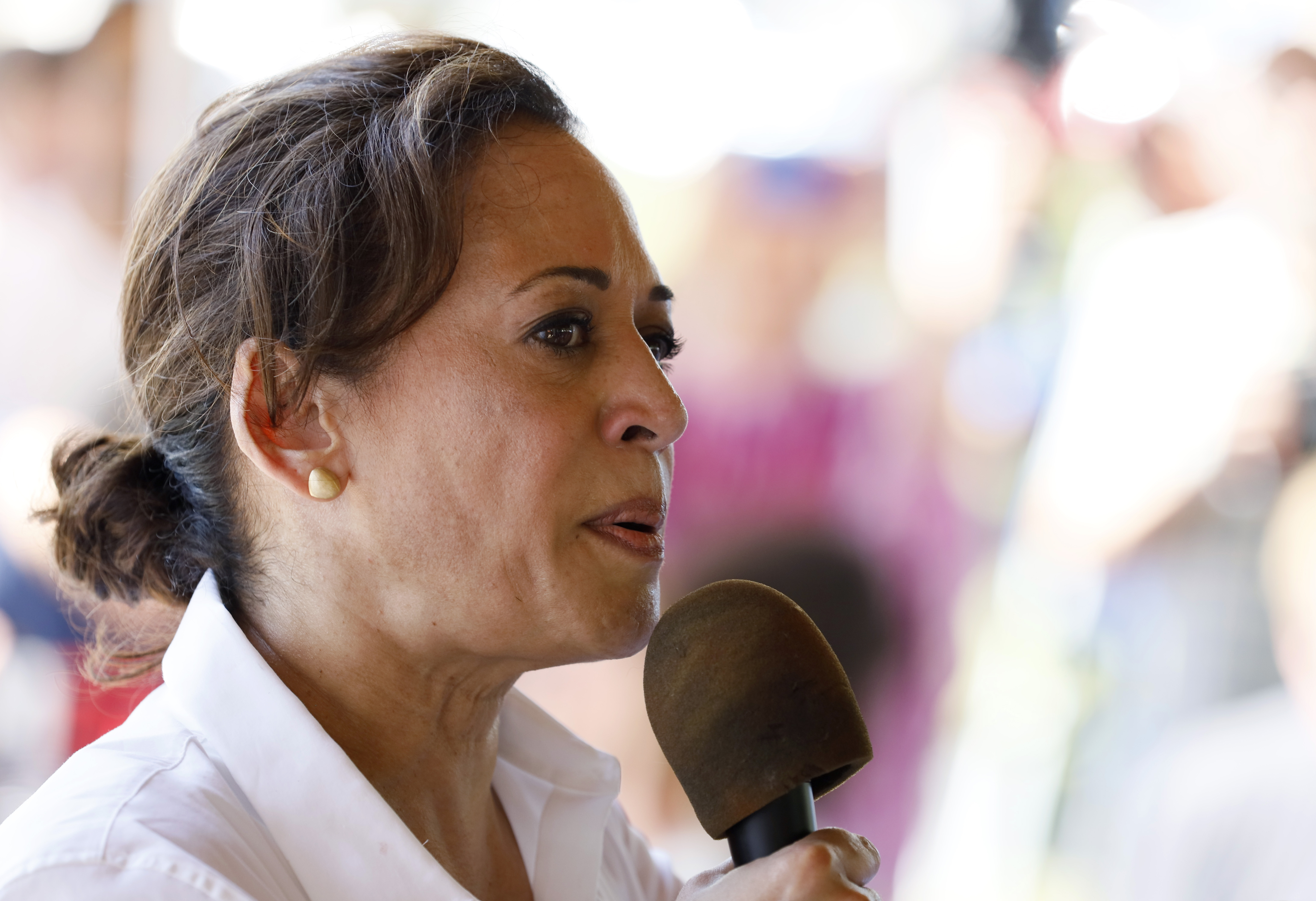 Harris says busing should be considered, not mandated