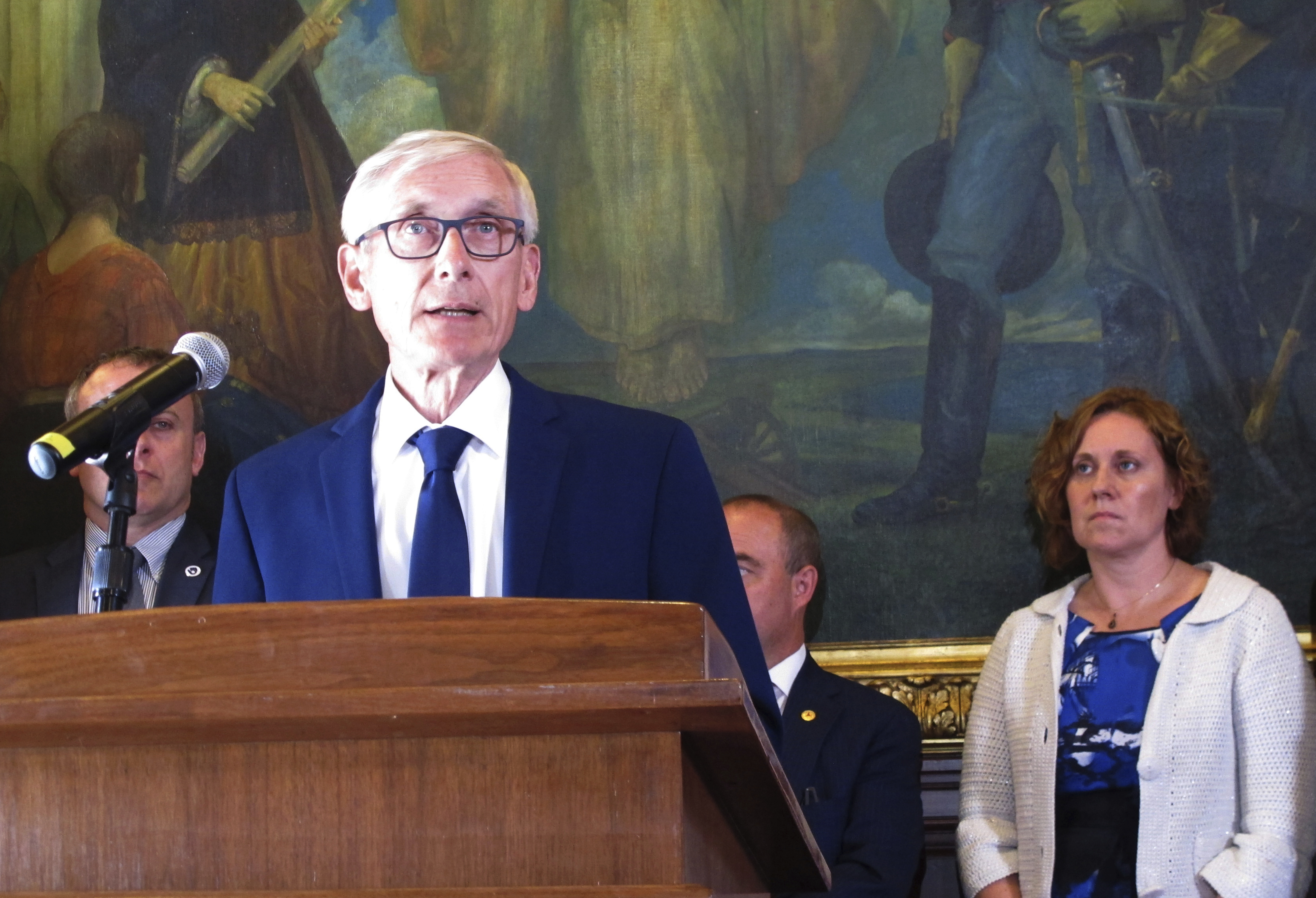 Conservative think tank sues Wisconsins Evers over access
