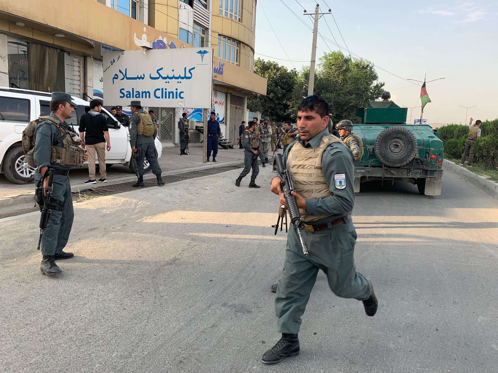 Blast, gunbattle at Afghan VP candidates office, 1 dead