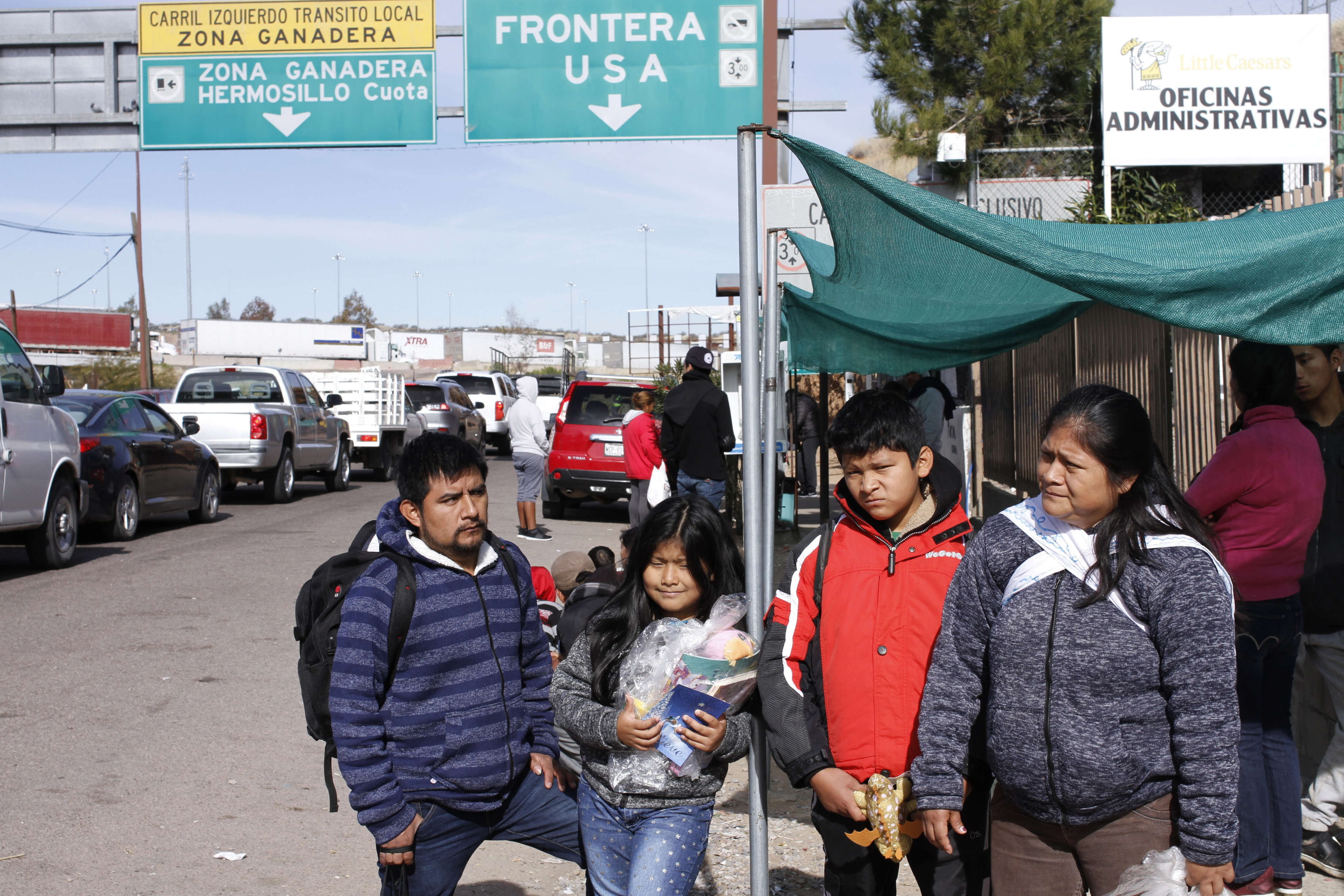 Migrants sent back to Mexico stuck and scared