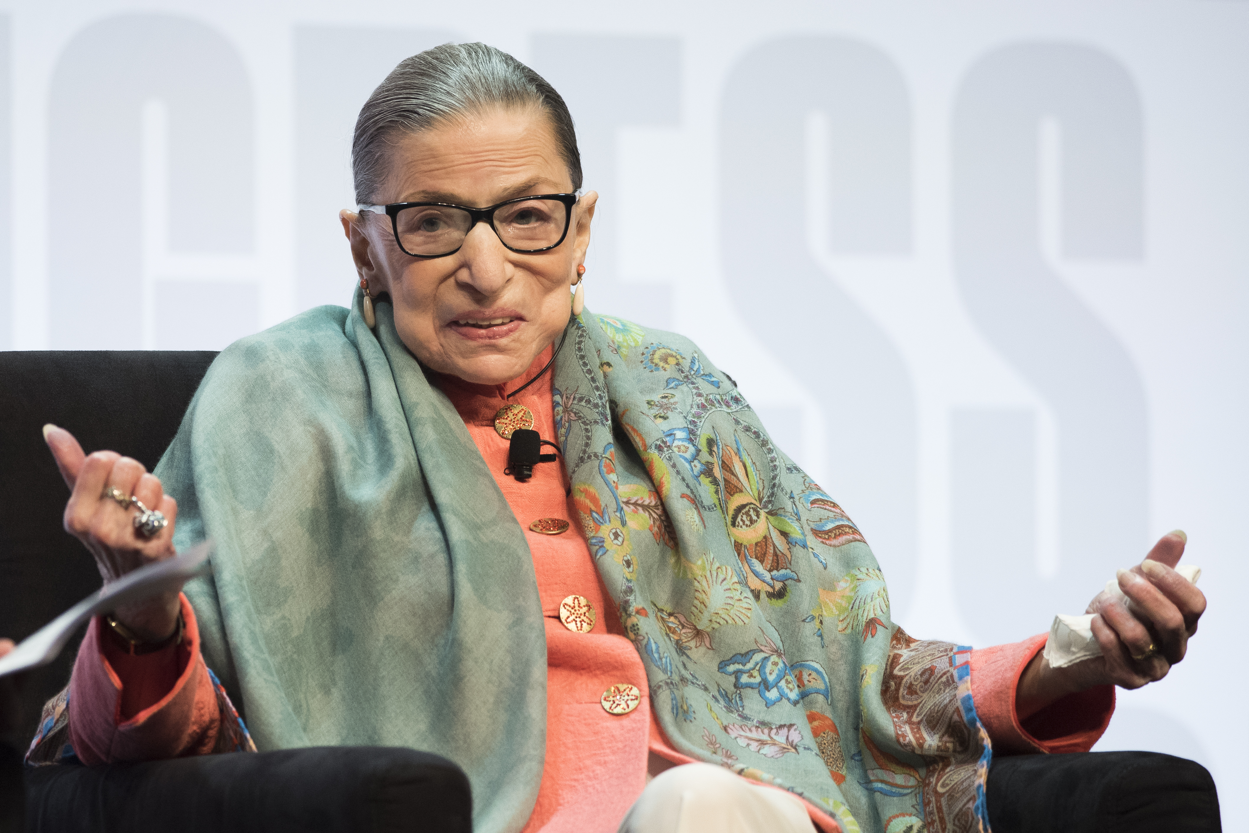 Justice Ginsburg reports shes on way to well after cancer