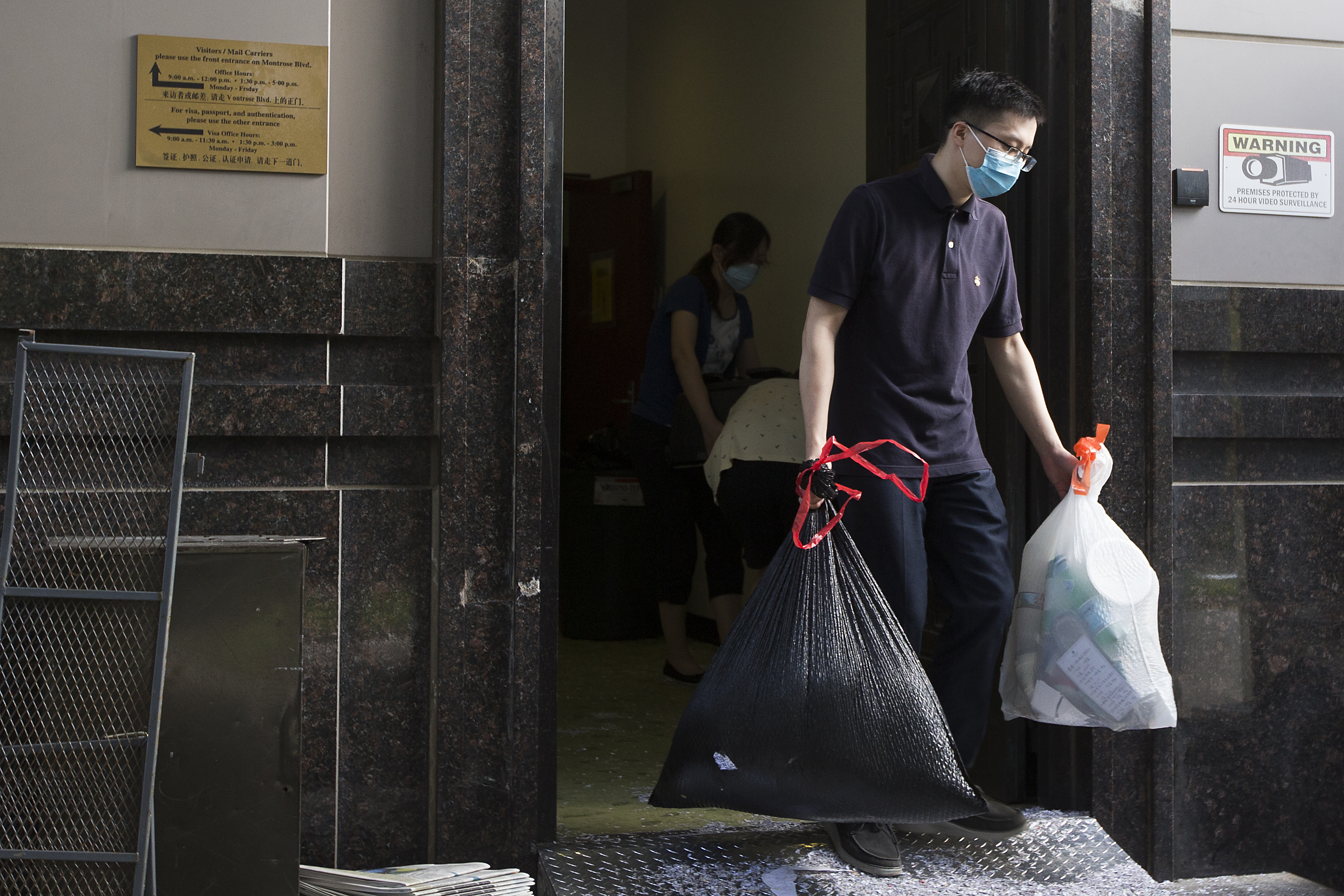 Chinas consulate in Houston cleared out ahead of eviction