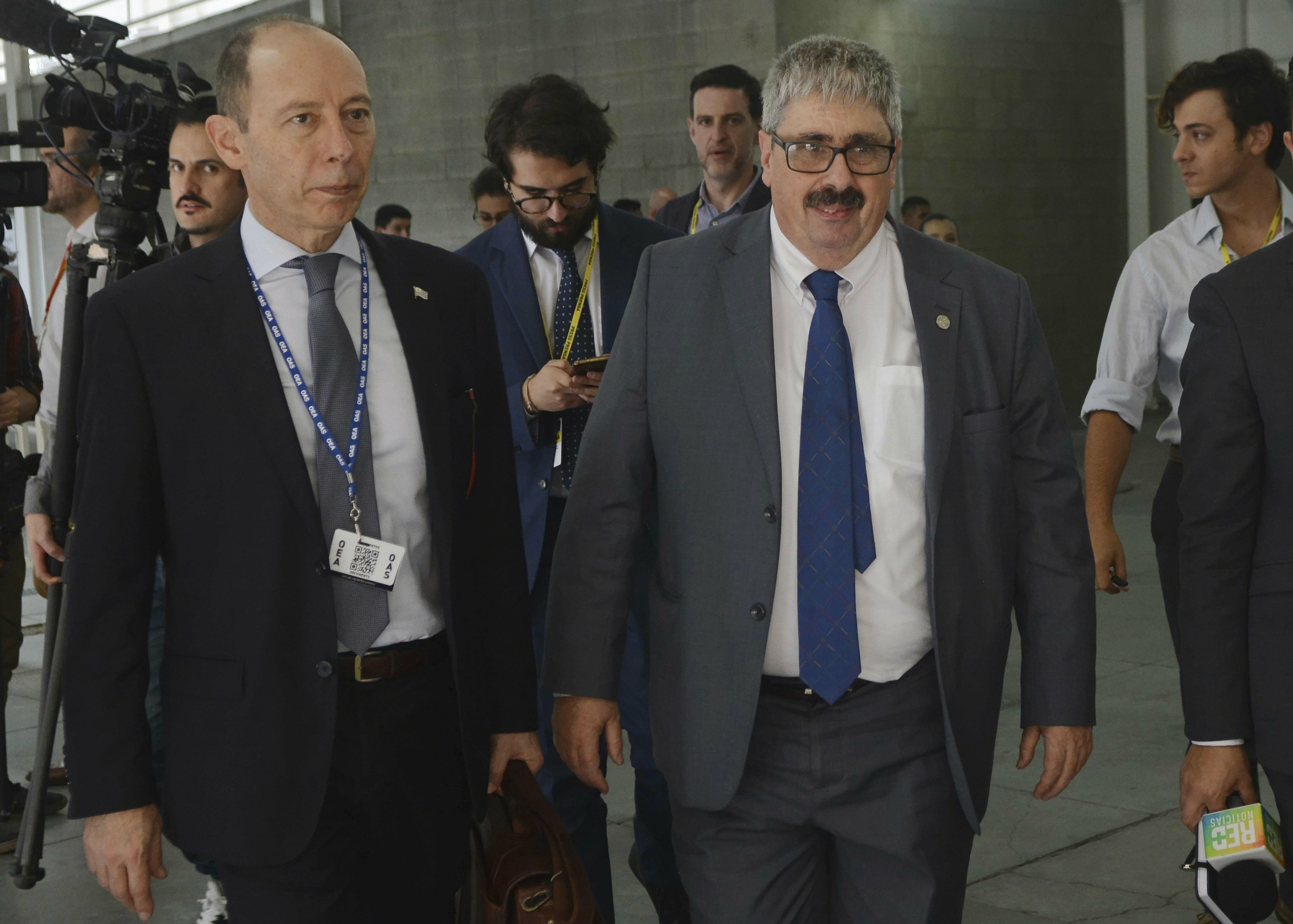 Uruguay protests role of Venezuelas opposition at gathering