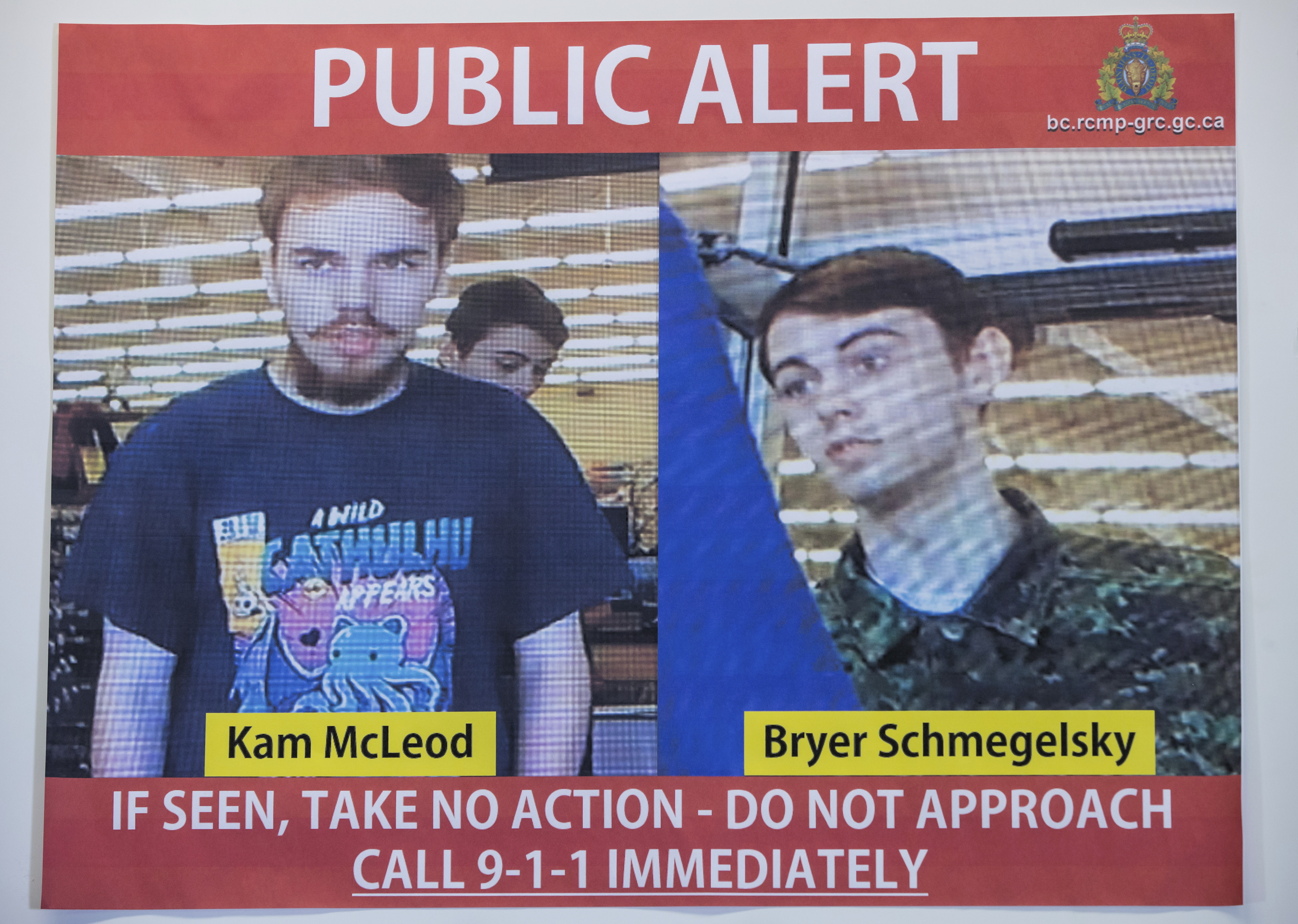 Father: nationwide Canada manhunt will end in sons death