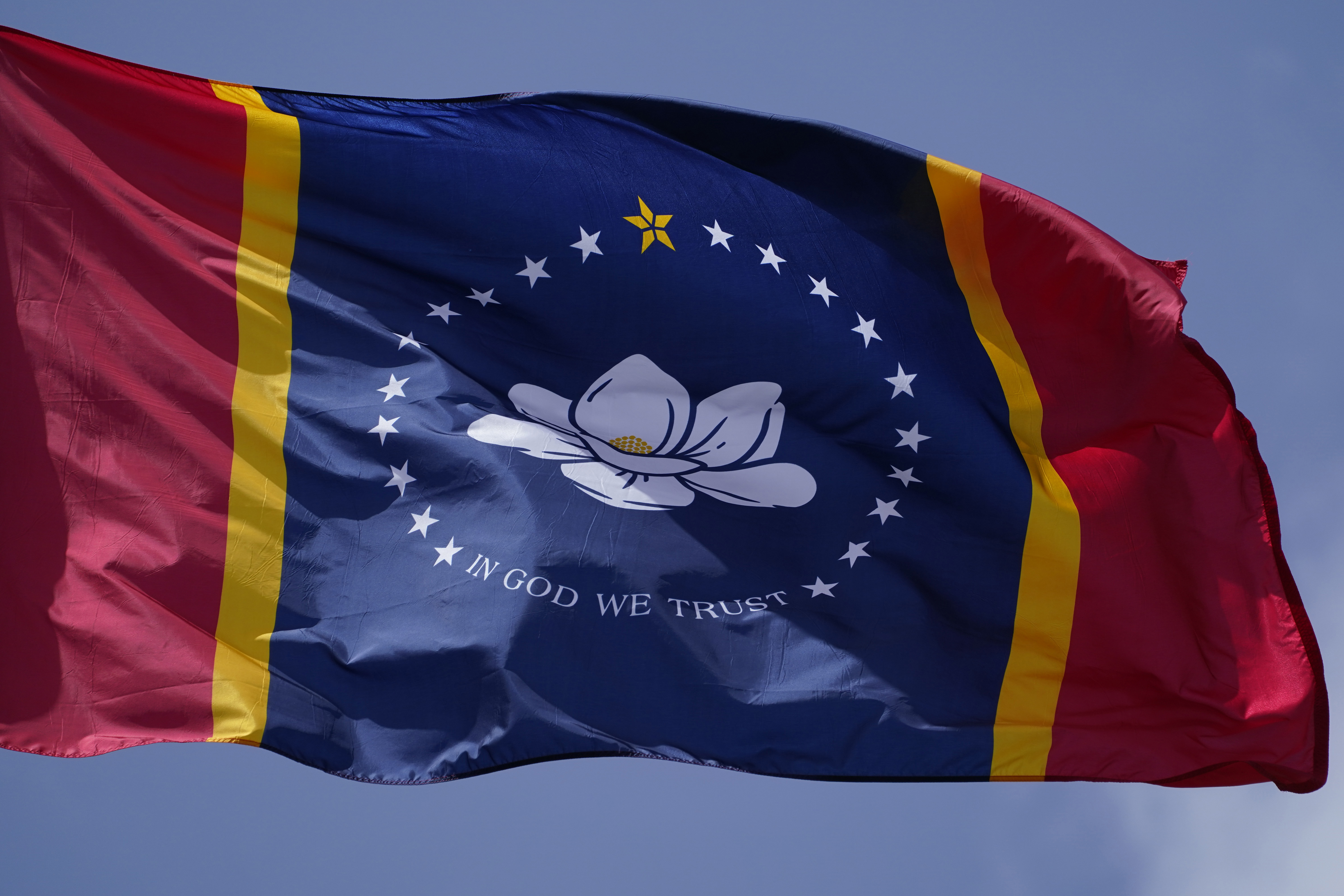Mississippis new magnolia flag starting to fly after vote