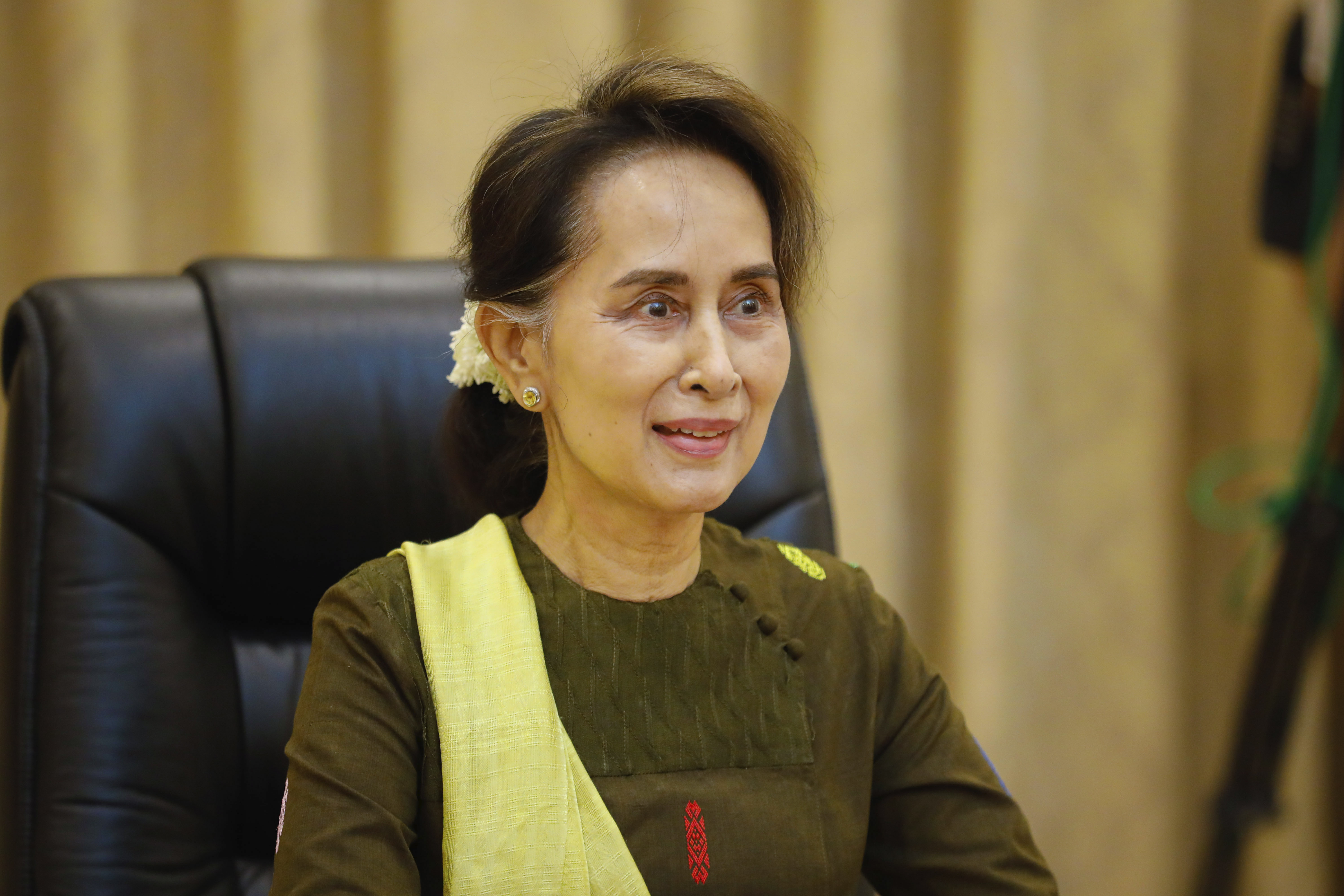 Myanmar leader blames joblessness for deadly mining tragedy
