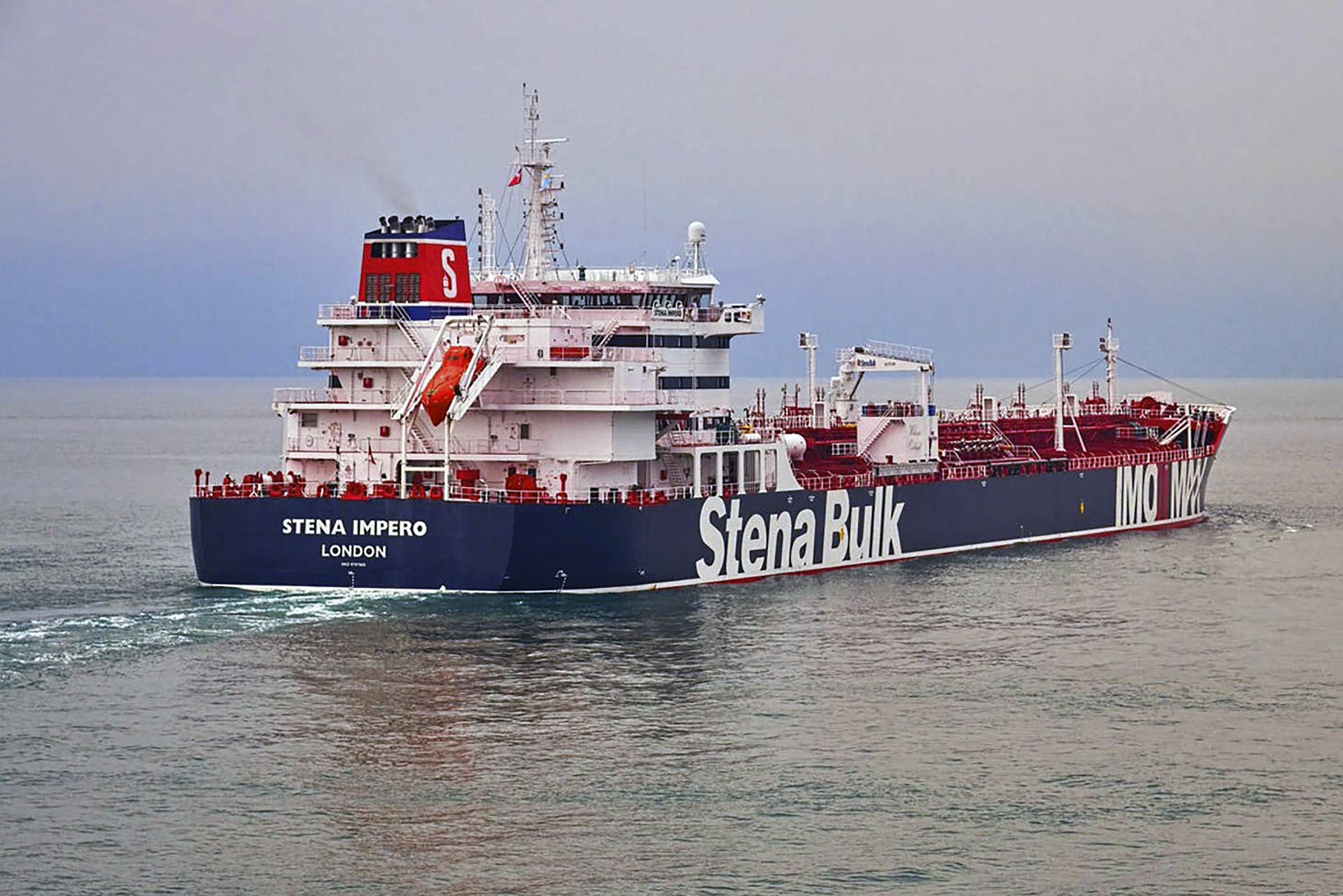 The Latest: Gulf incidents rattle shipping industry