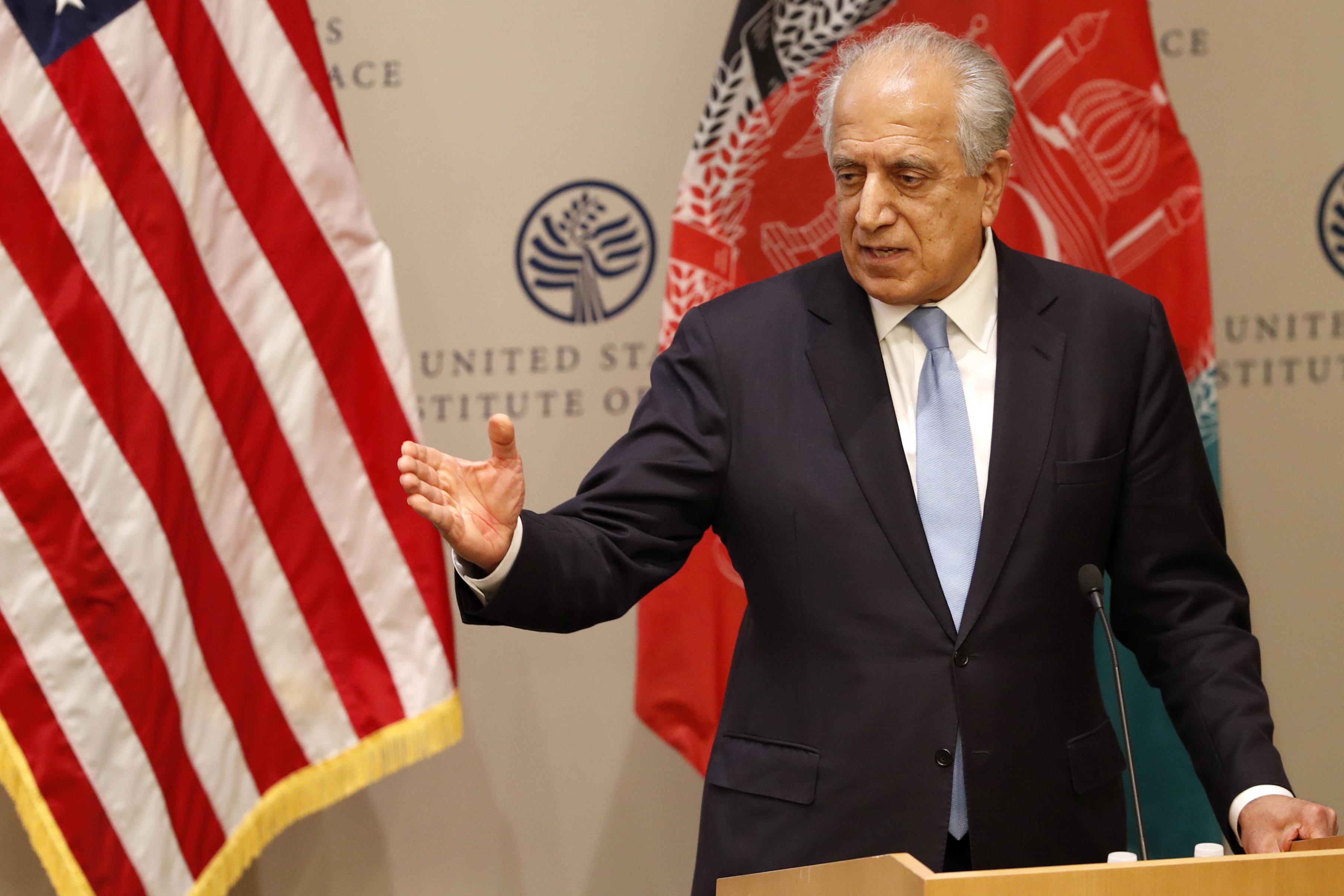 Congress committee subpoenas Trump envoy to Taliban talks
