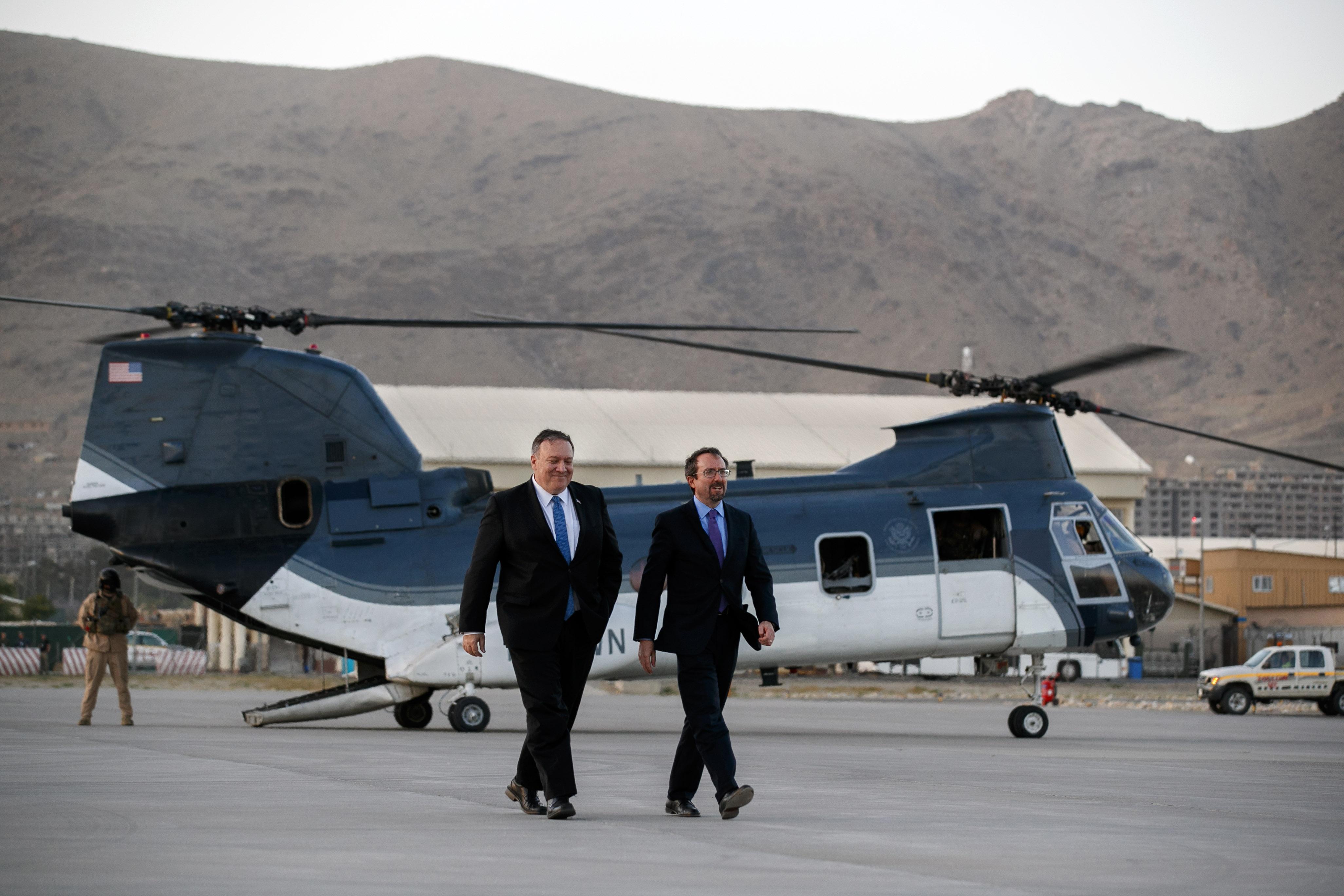 US ambassador leaves Kabul, ends 2-year Afghan tenure