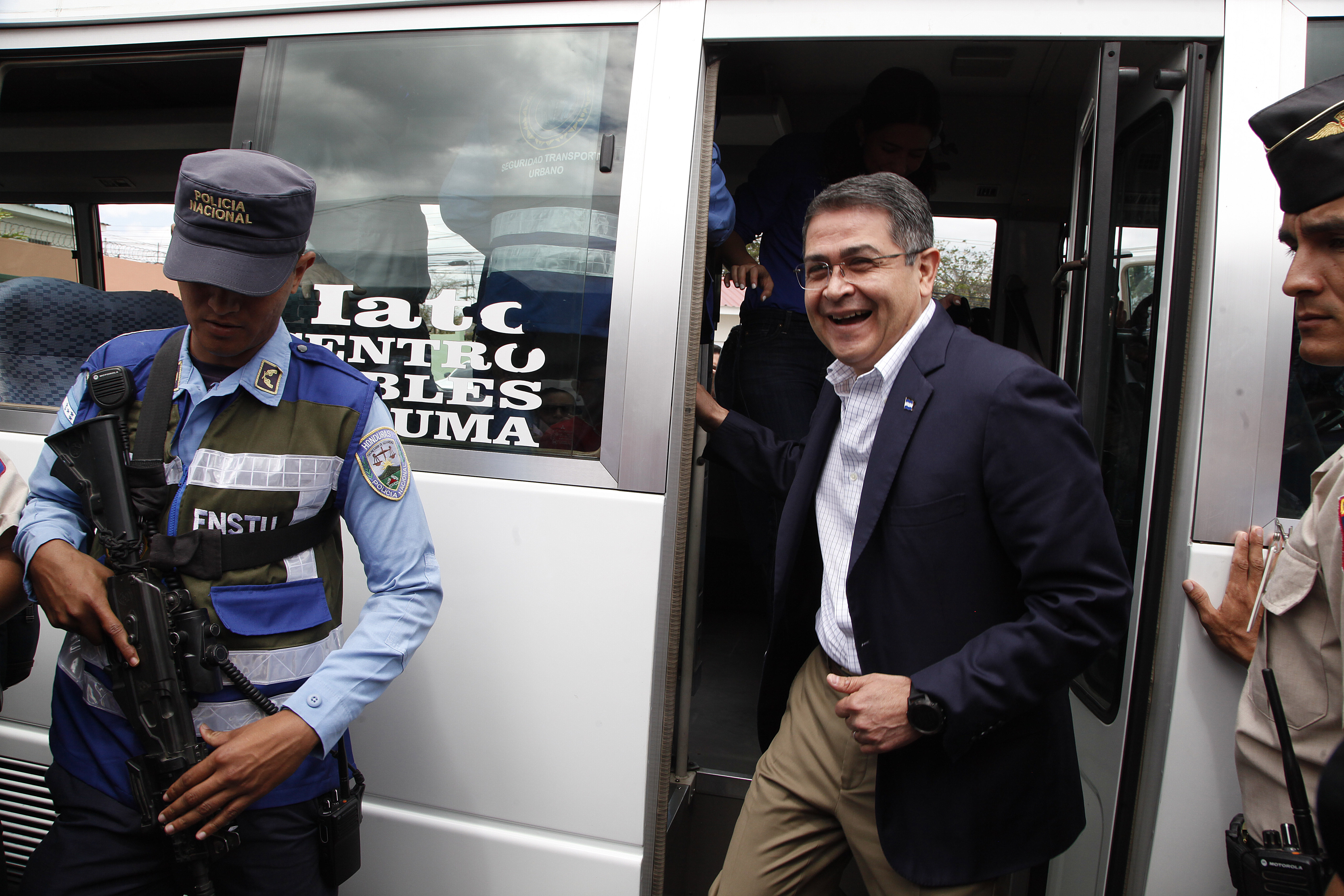 US prosecutors accuse Honduran president of drug conspiracy