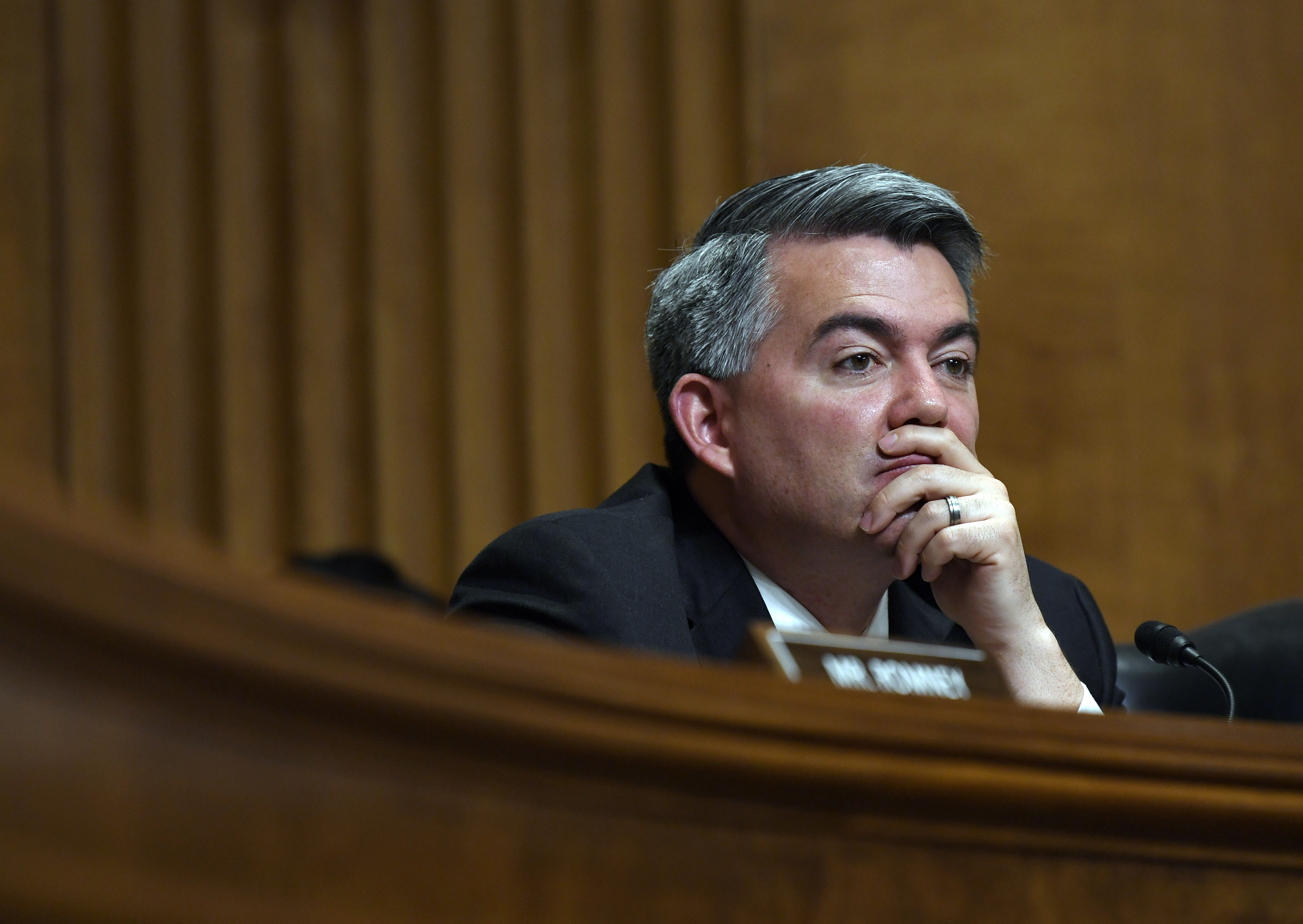 Gardner had good news for Colorado. But Trump had tweets