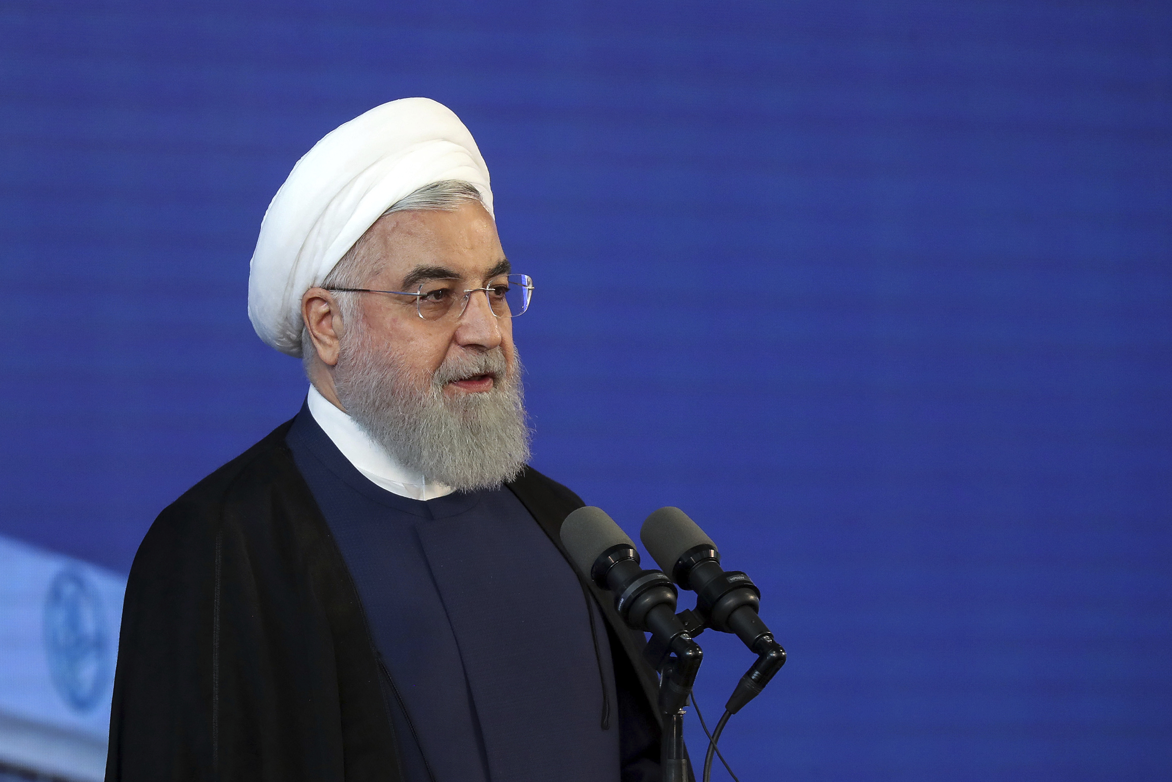 The Latest: Trump says Iran still takes threats seriously