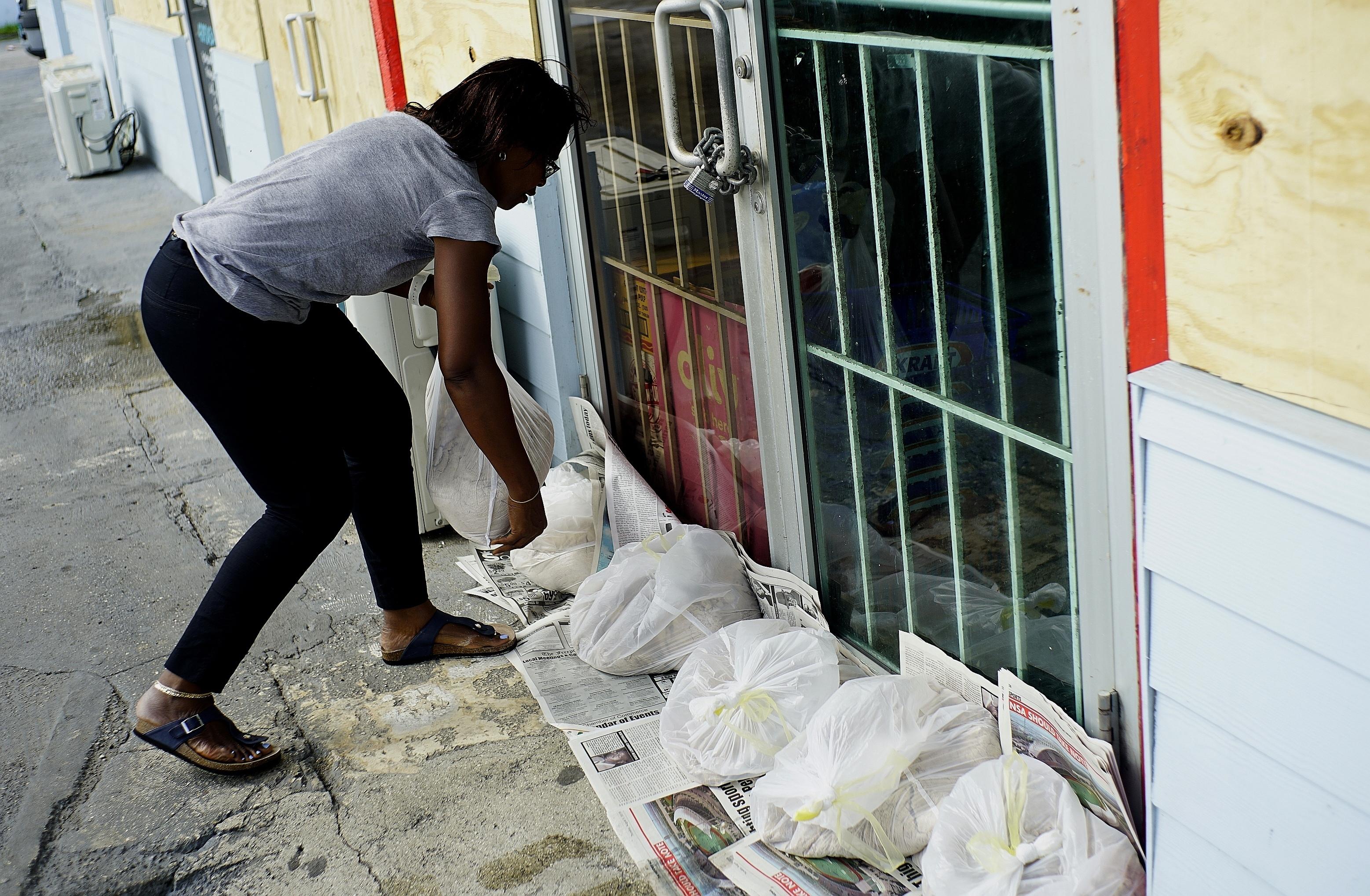 The Latest: Hurricane Dorian keeps pounding north Bahamas
