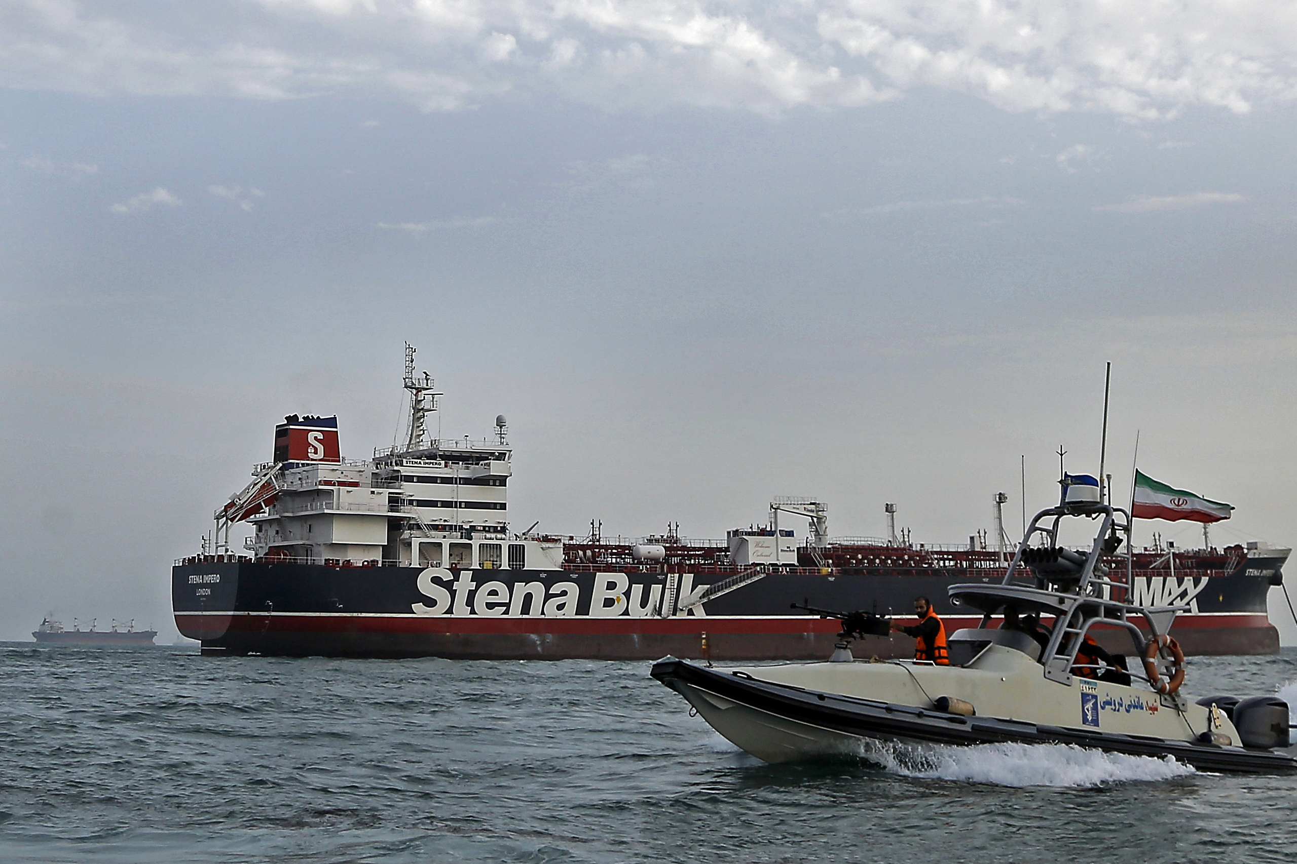 Swedish owner of oil tanker held by Iran: ship has not moved