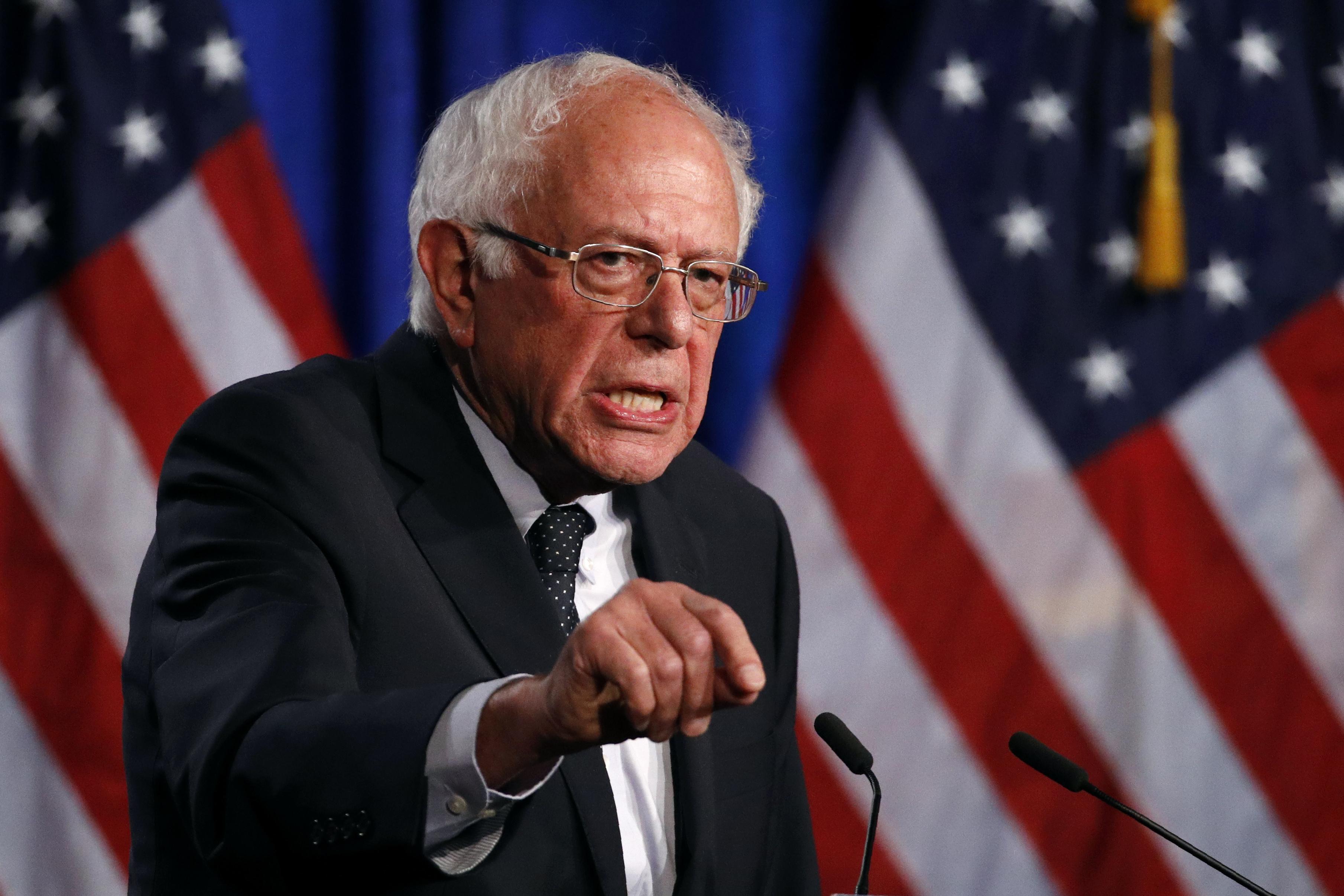 Bernie Sanders thinks media is unfair, so he created his own