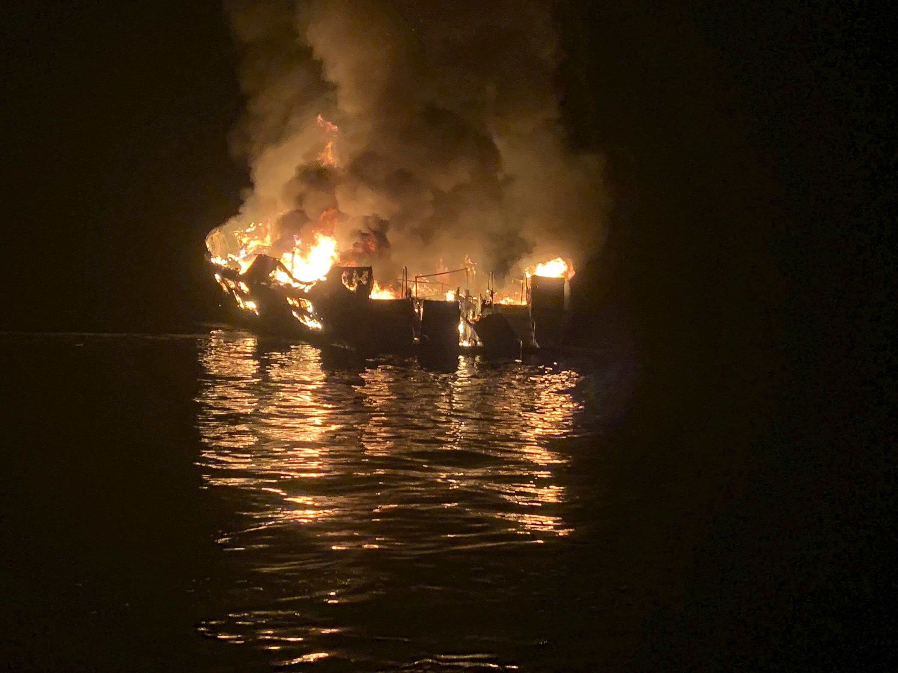 Search warrants served in California boat fire investigation