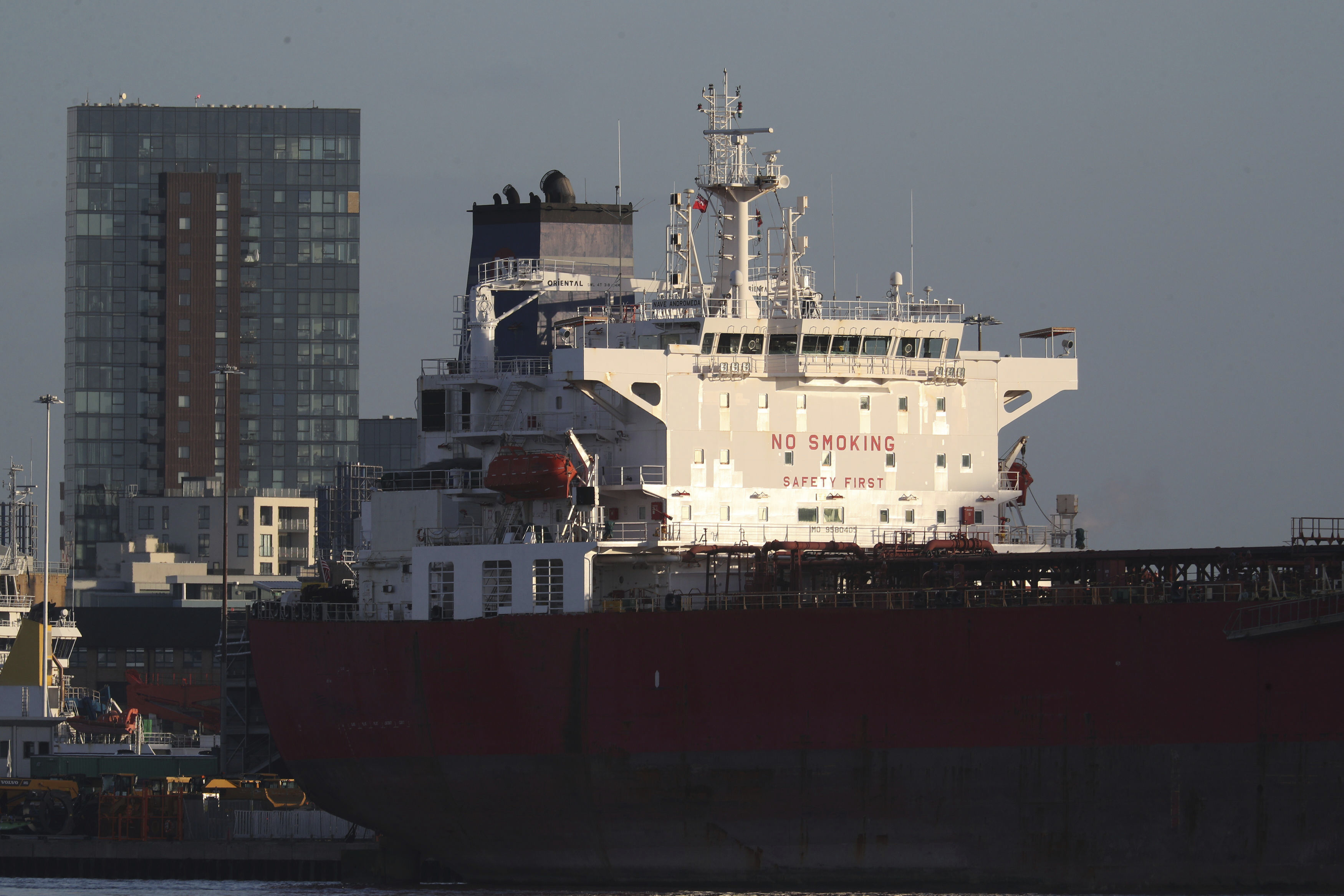 7 held for suspected tanker hijack after UK commando raid