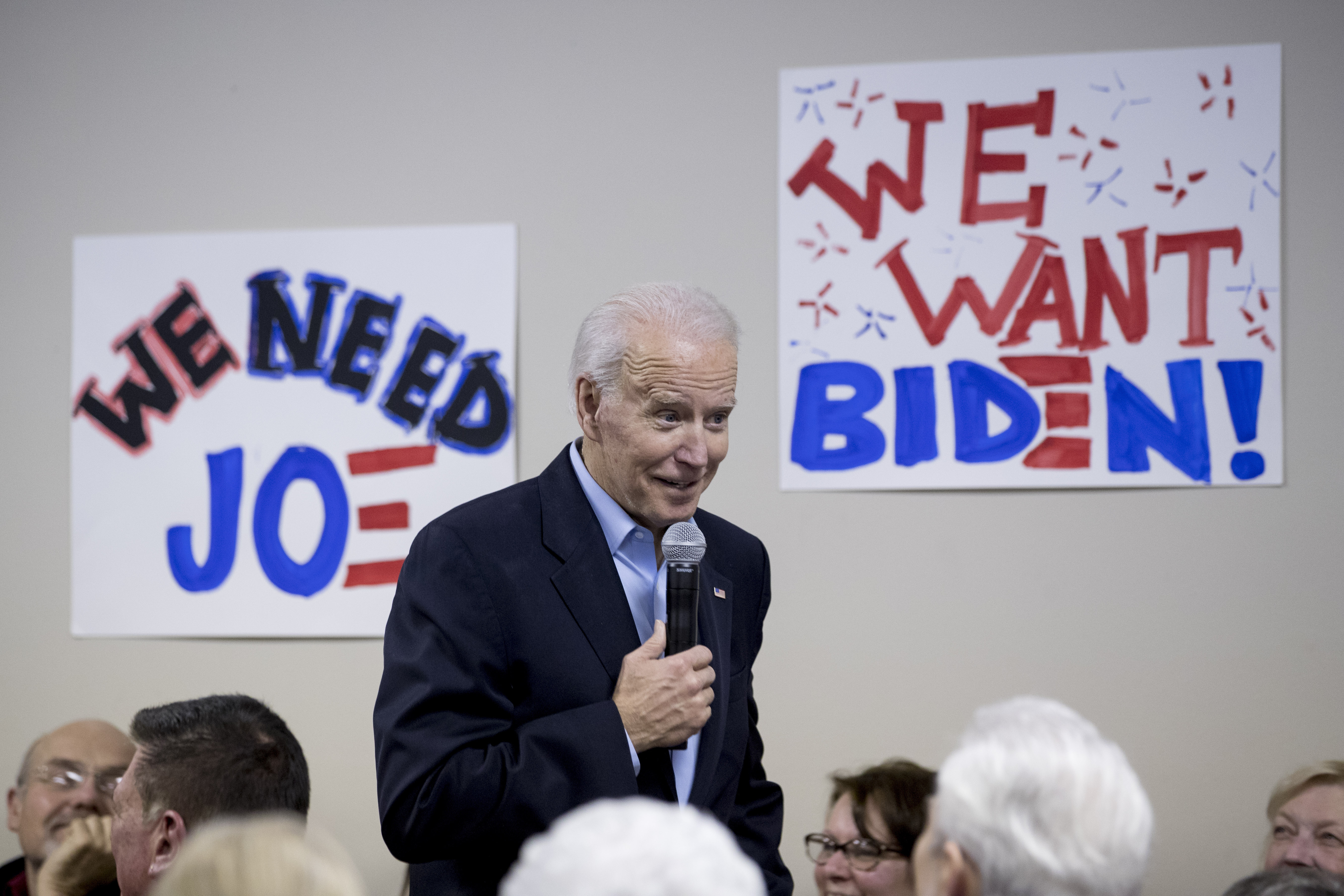 Biden cash reserves lag behind top 2020 rivals