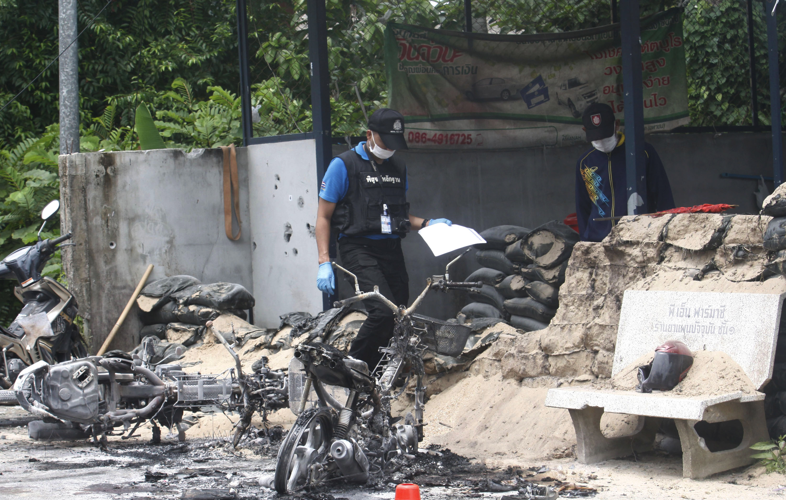 4 dead in southern Thailand attack on military outpost